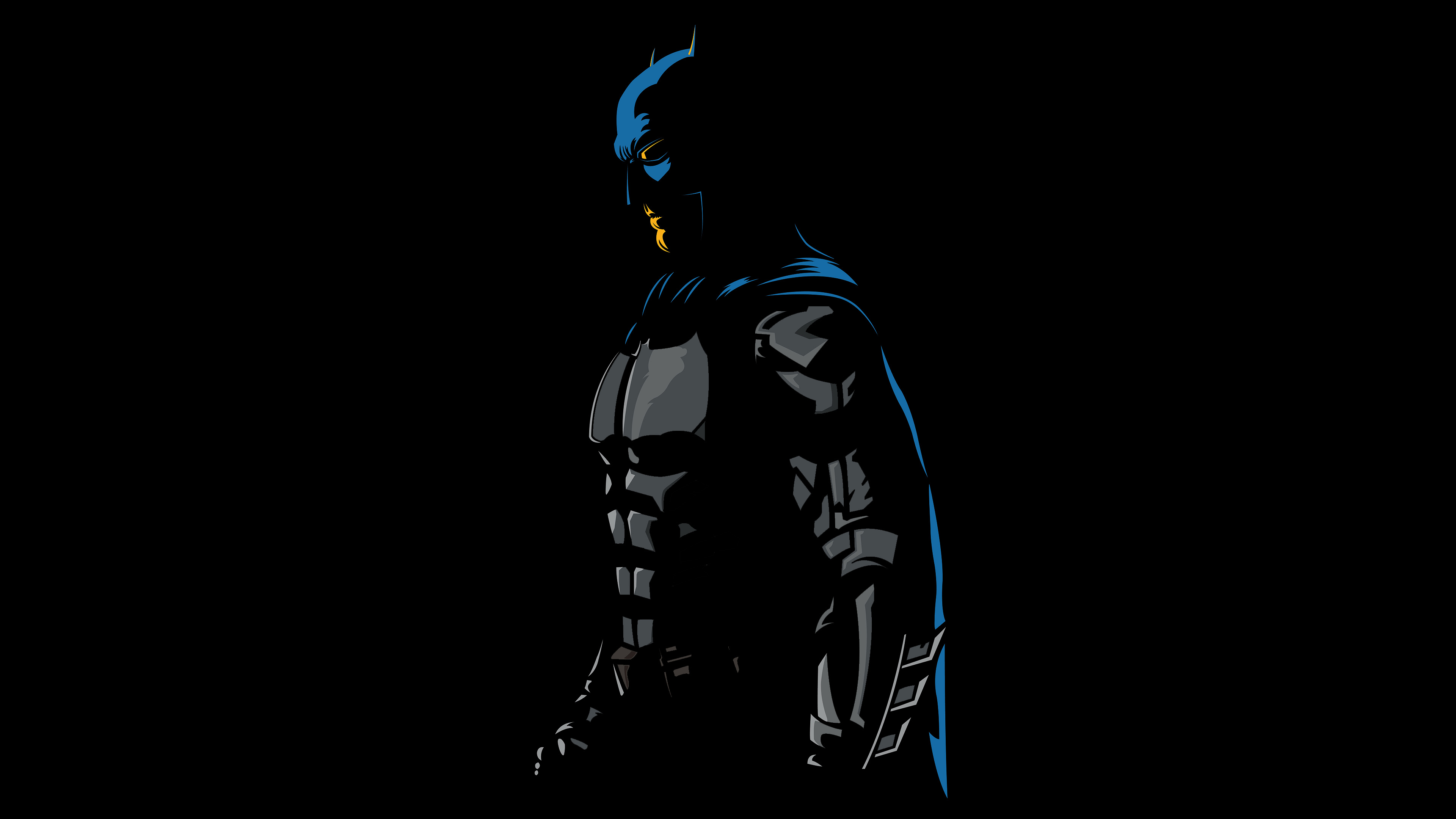 Batman 4k Minimalism Artwork, HD Superheroes, 4k Wallpapers, Images, Backgrounds, Photos and