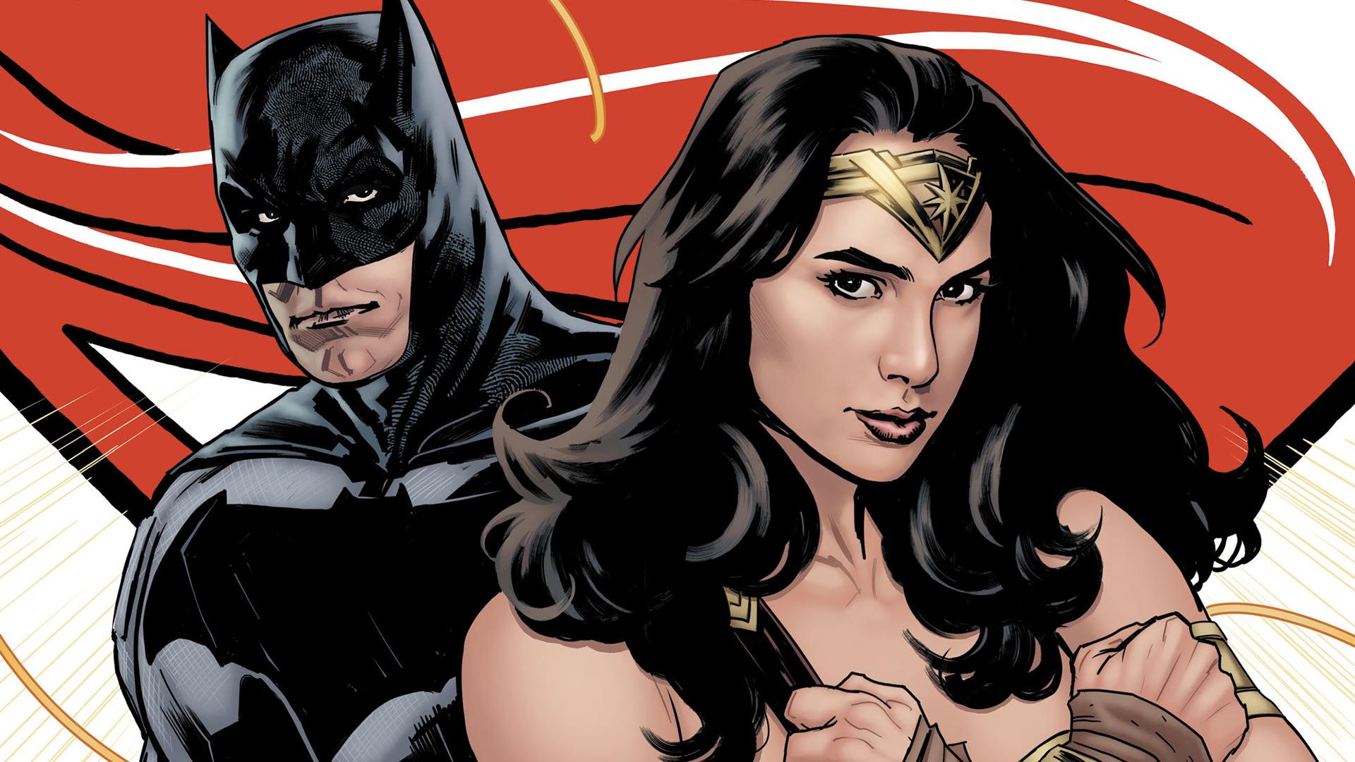Wonder Woman Hq Movie Wallpapers: Batman And Wonder Woman Artwork, HD Superheroes, 4k
