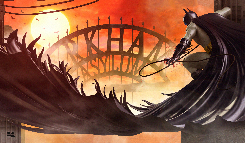 Batman Arkham Asylum Artwork Hd Superheroes 4k Wallpapers