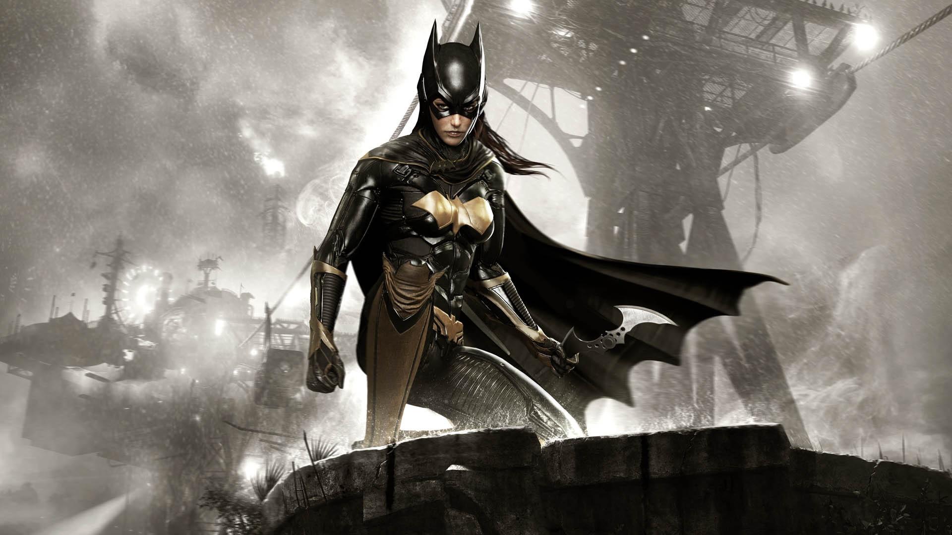 Batgirl Arkham Knight Minecraft Skin