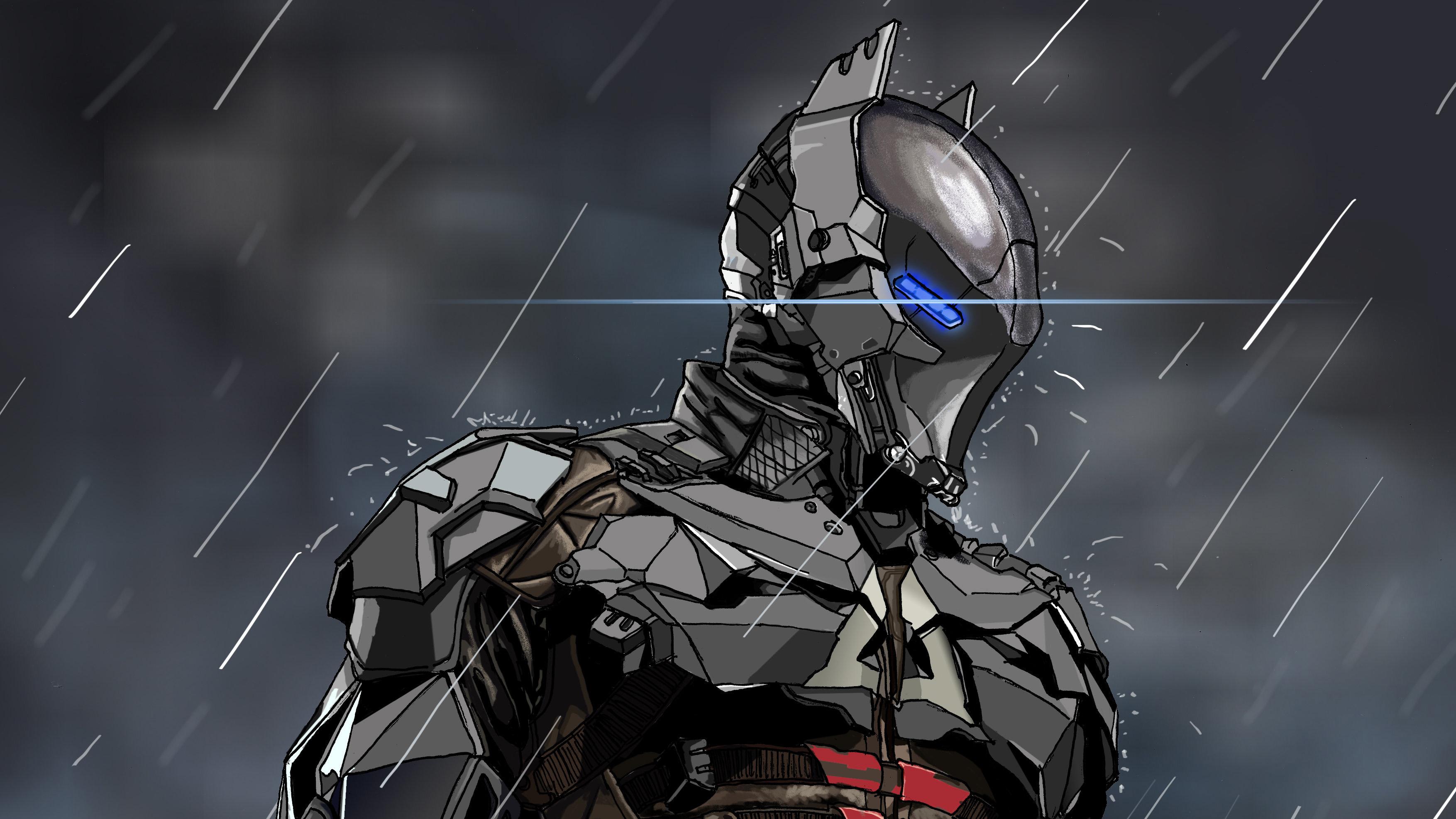 Batman Arkham Knight Digital Art, HD Superheroes, 4k ...