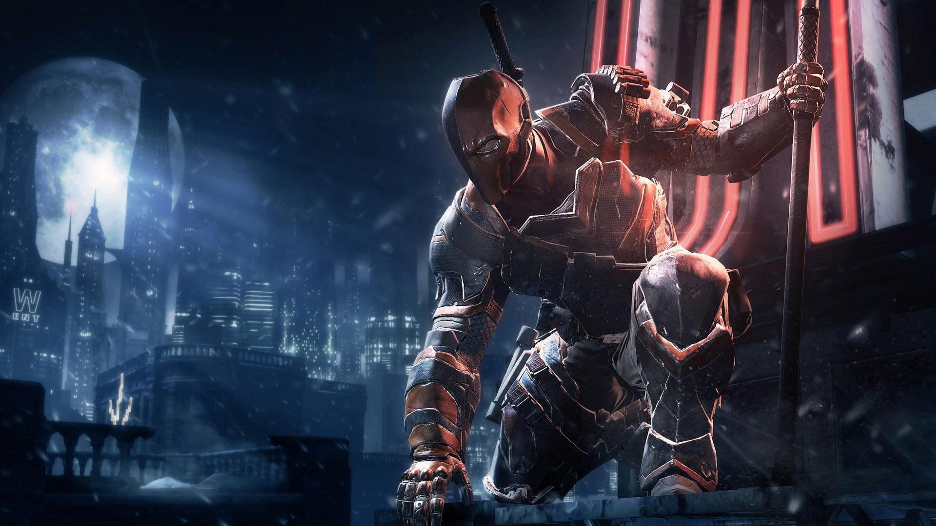 batman arkham origins deathstroke hd games 4k wallpapers