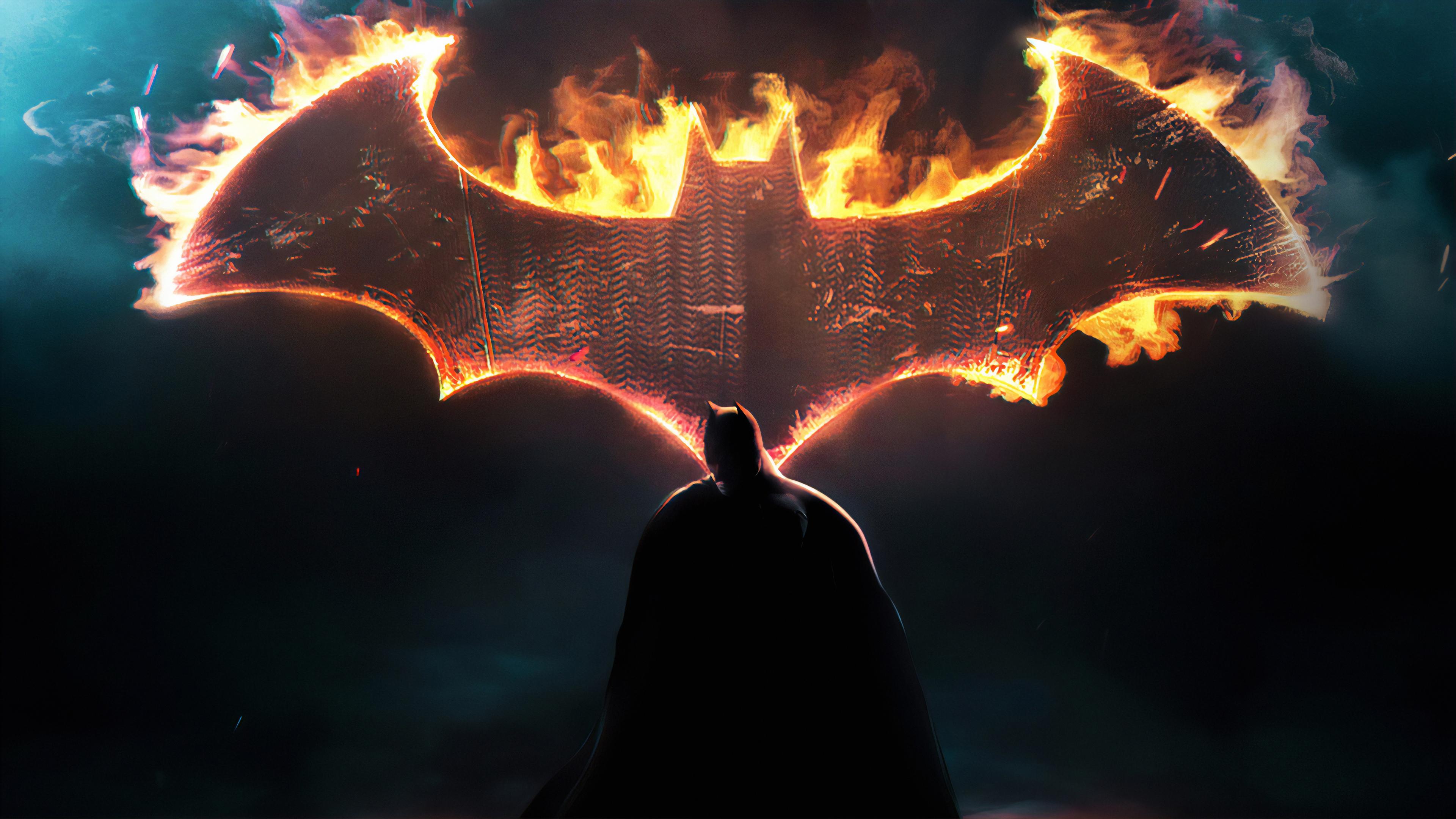 Batman Dark Knight Logo, HD Superheroes, 4k Wallpapers ...
