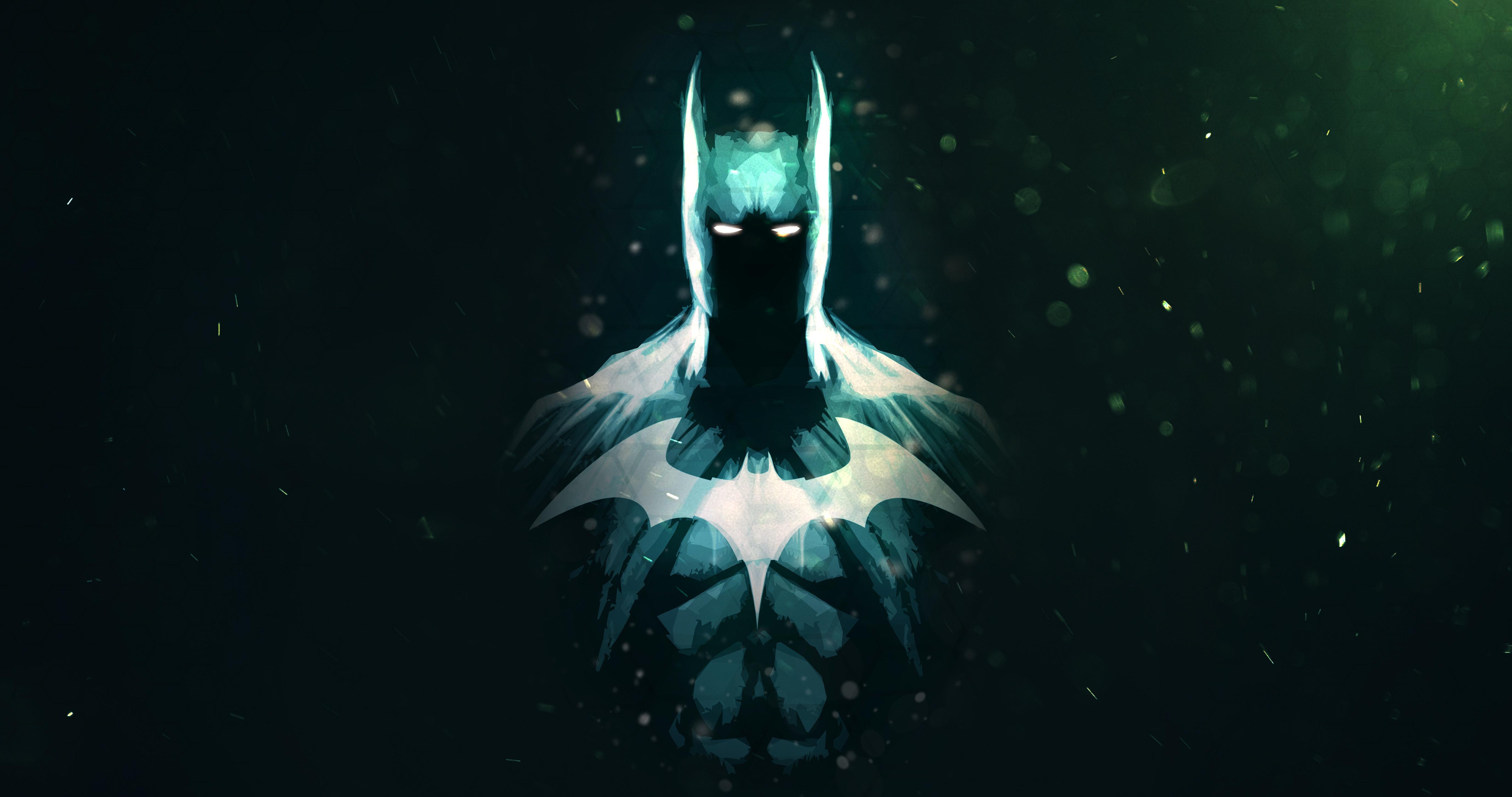 Batman Dc Comics Minimalism Artwork 5k