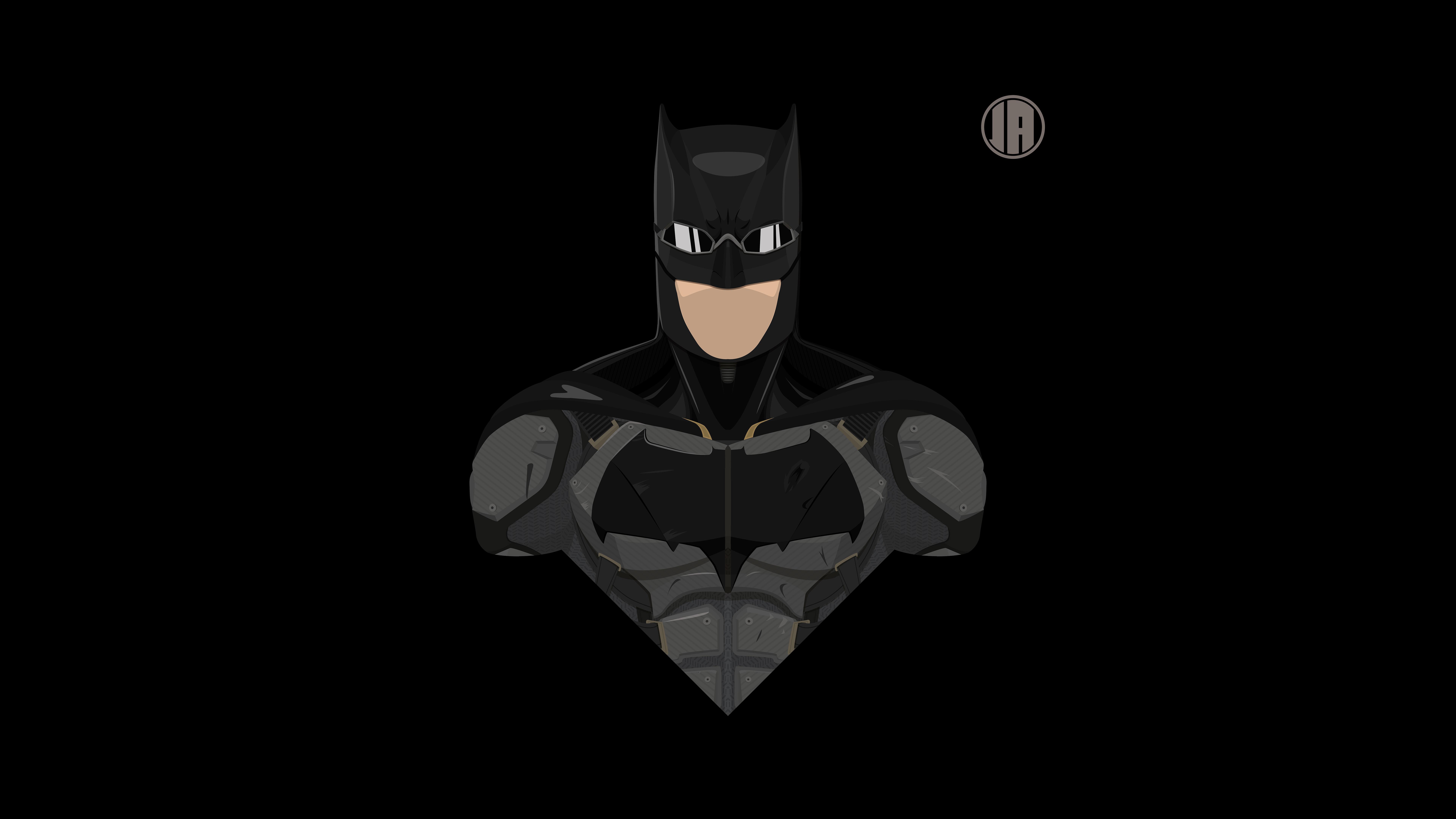 Batman DCEU Tactical Suit Minimalism 8k