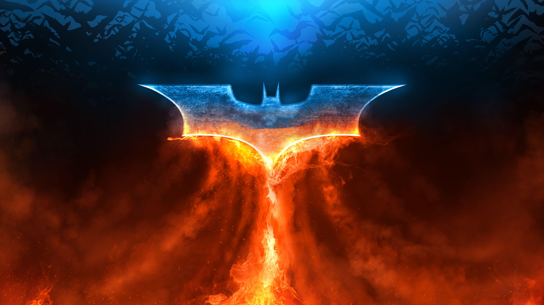 Batman Fire Rise Logo, HD Superheroes, 4k Wallpapers ...