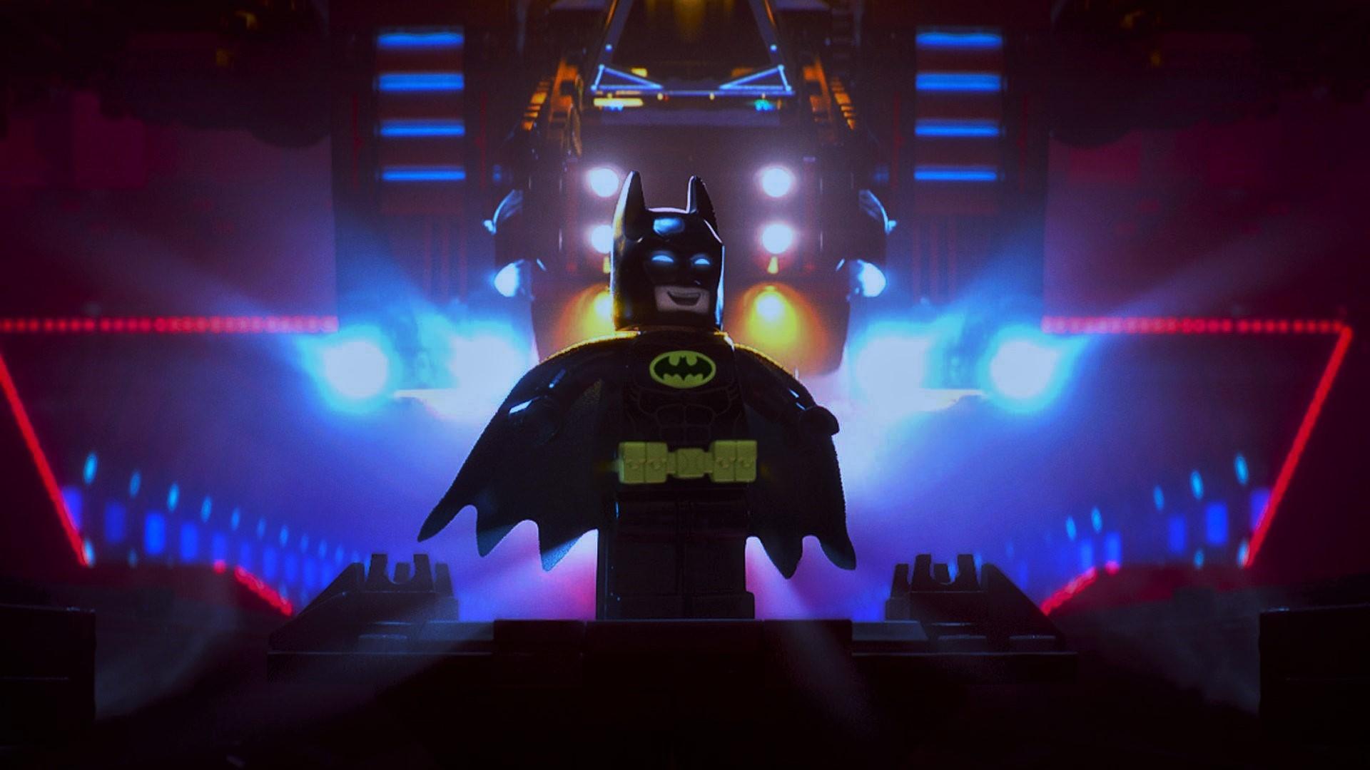 Batman In The Lego