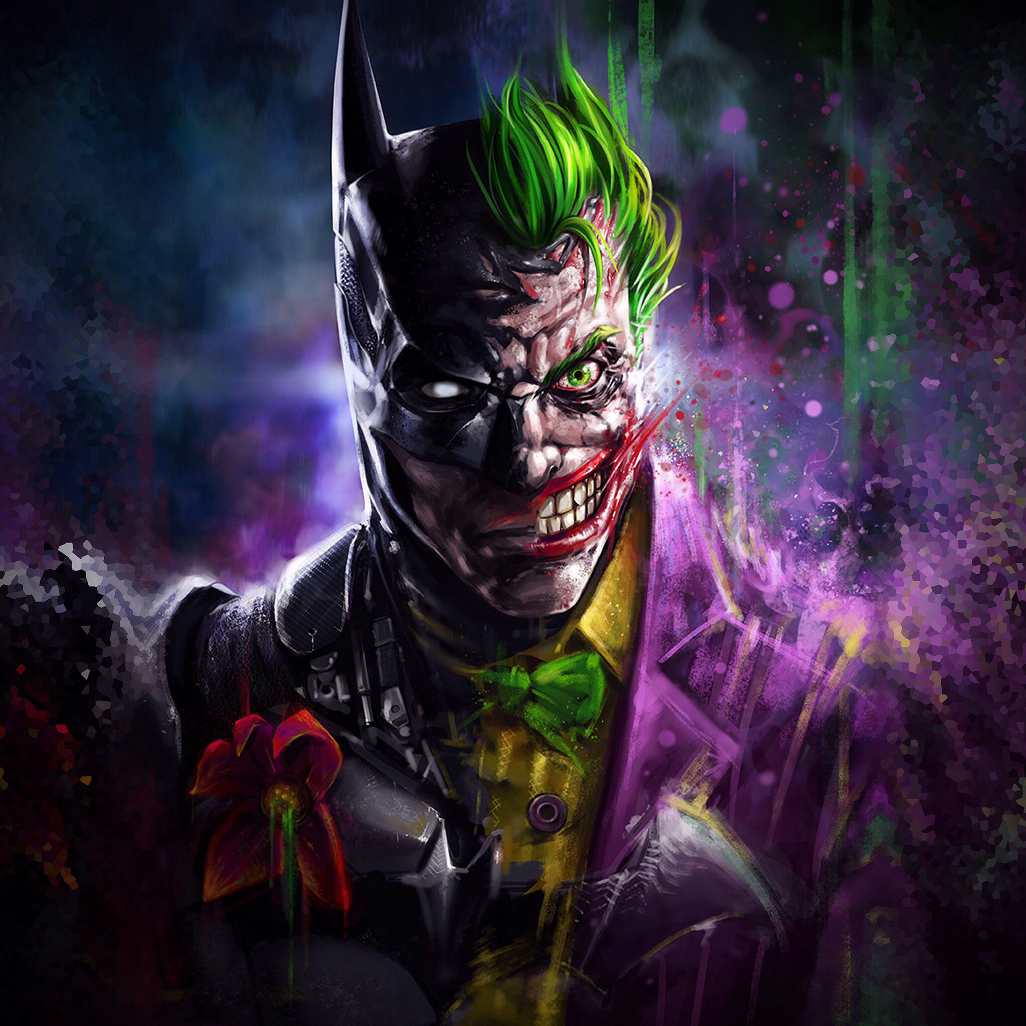 Batman Joker Art, HD Superheroes, 4k Wallpapers, Images ...