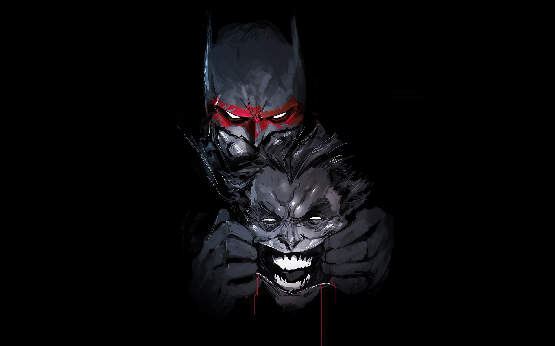 Batman Joker Artwork Laptop HD