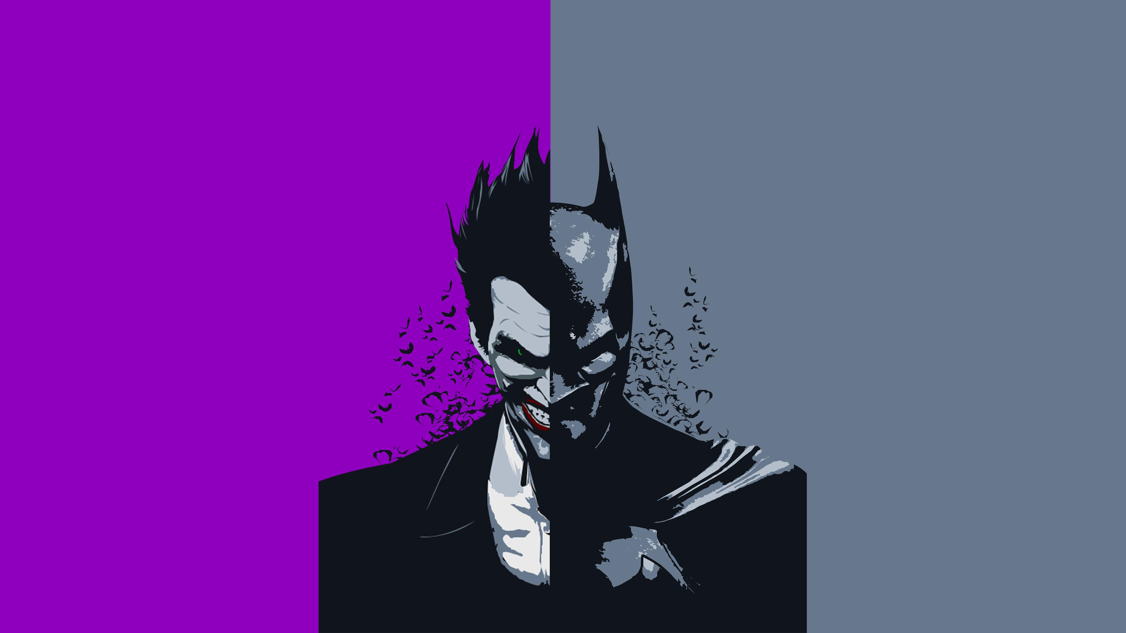Batman Joker New Art Hd Superheroes 4k Wallpapers Images