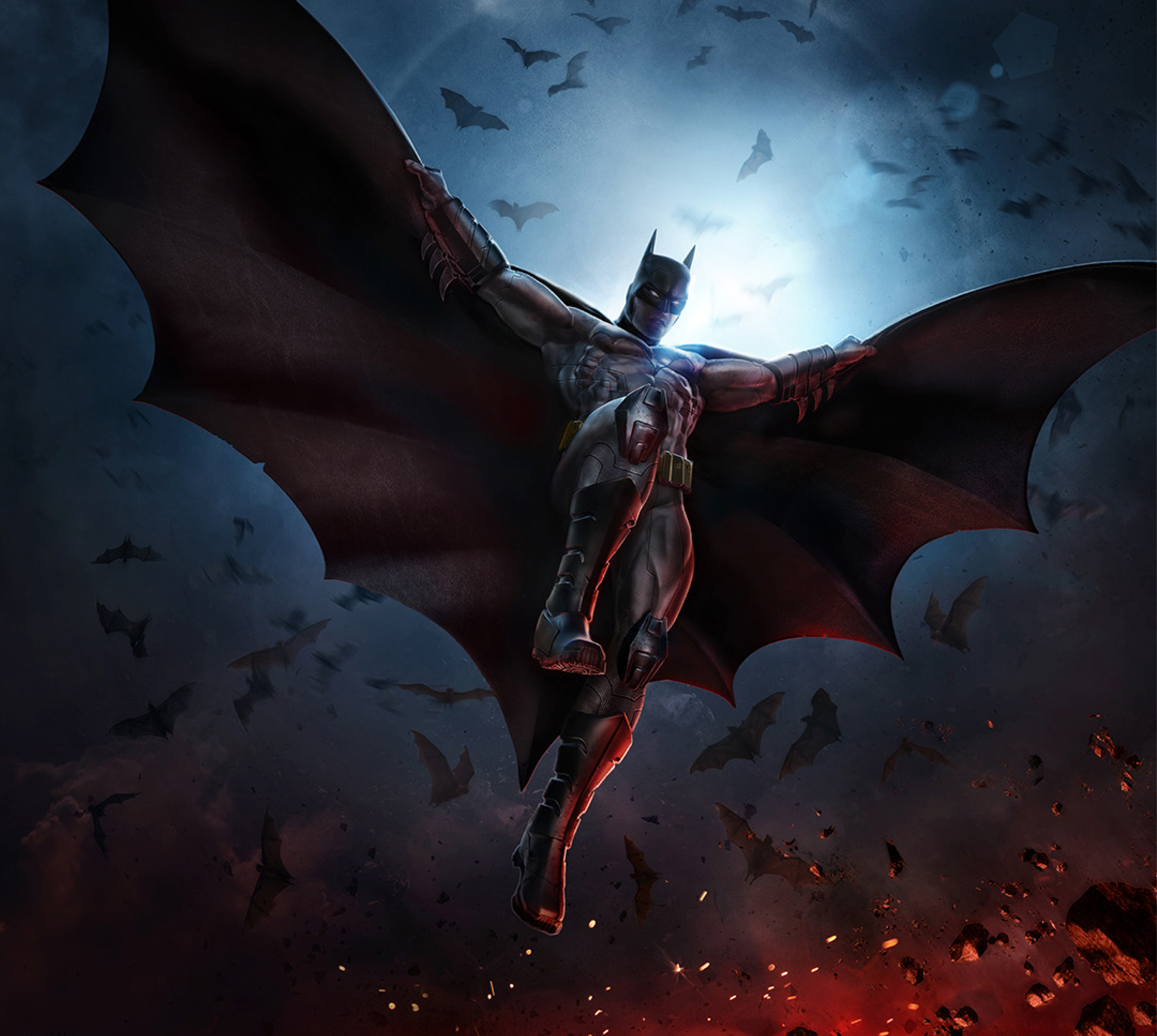 Kinzoku Bat Hd Wallpaper: Batman Key Artwork 4k, HD Superheroes, 4k Wallpapers