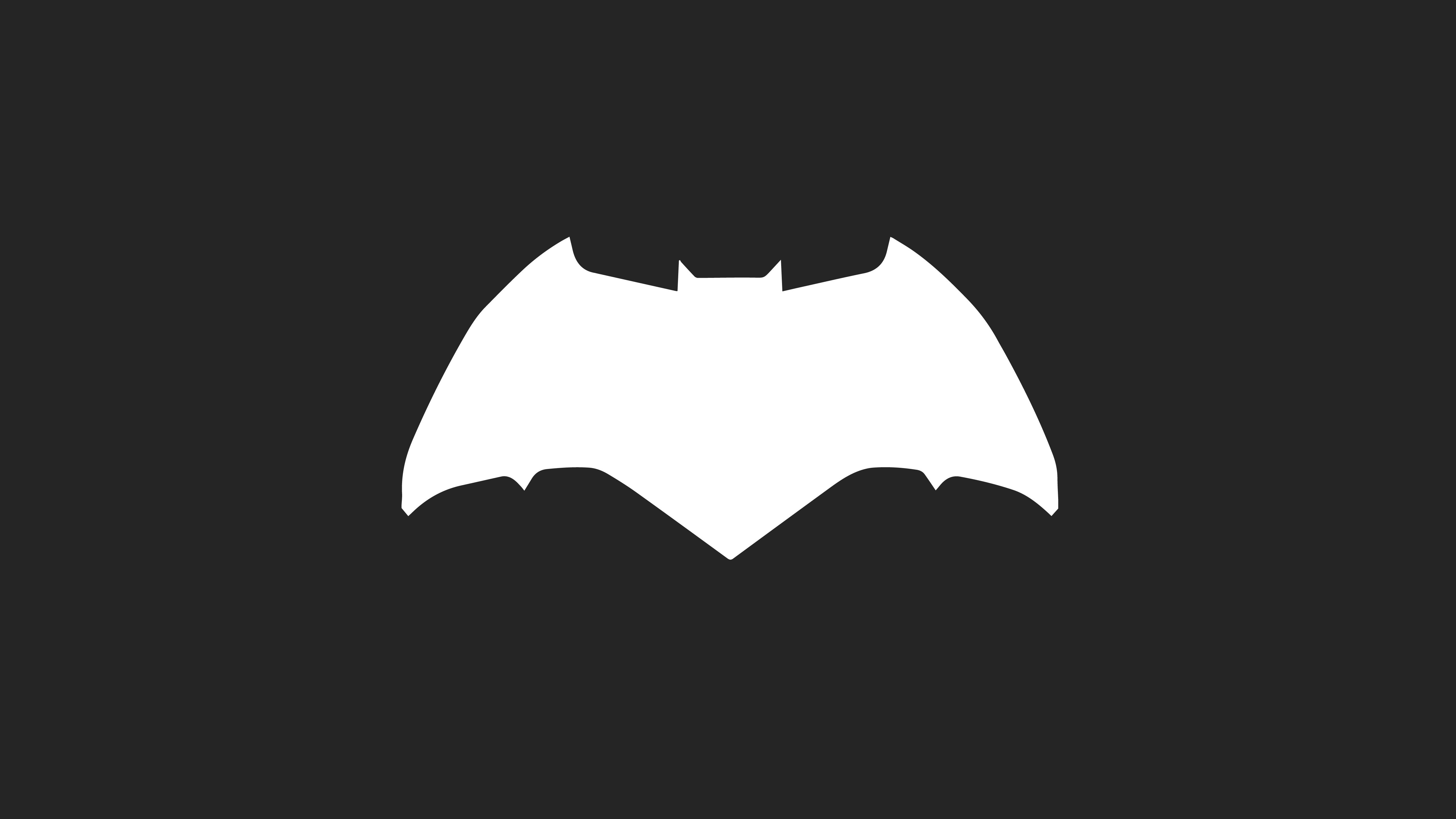Batman Logo Minimalism HD Artist 4k Wallpapers Images