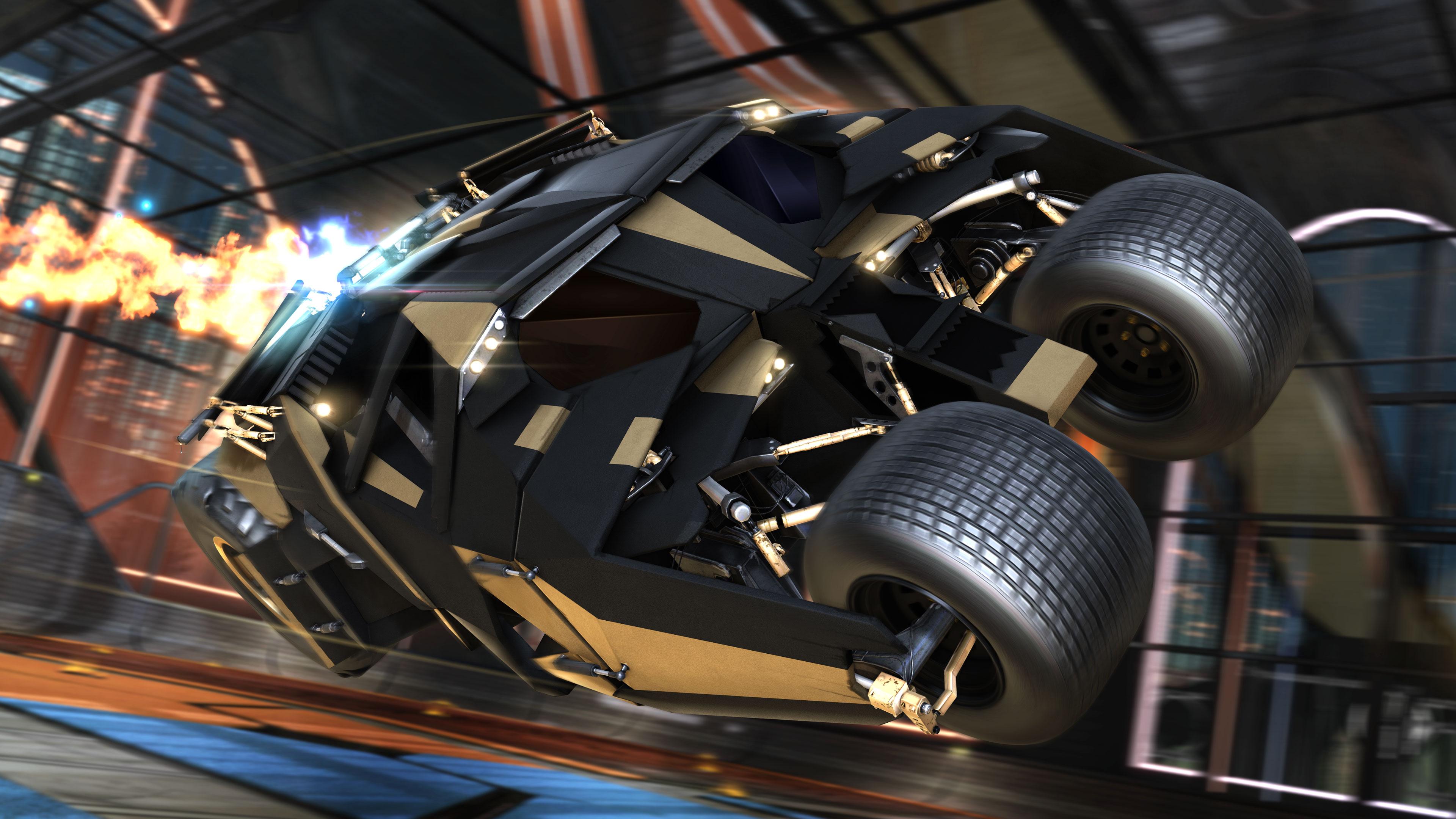 Batman Rocket League Dlc 4k, HD Games, 4k Wallpapers