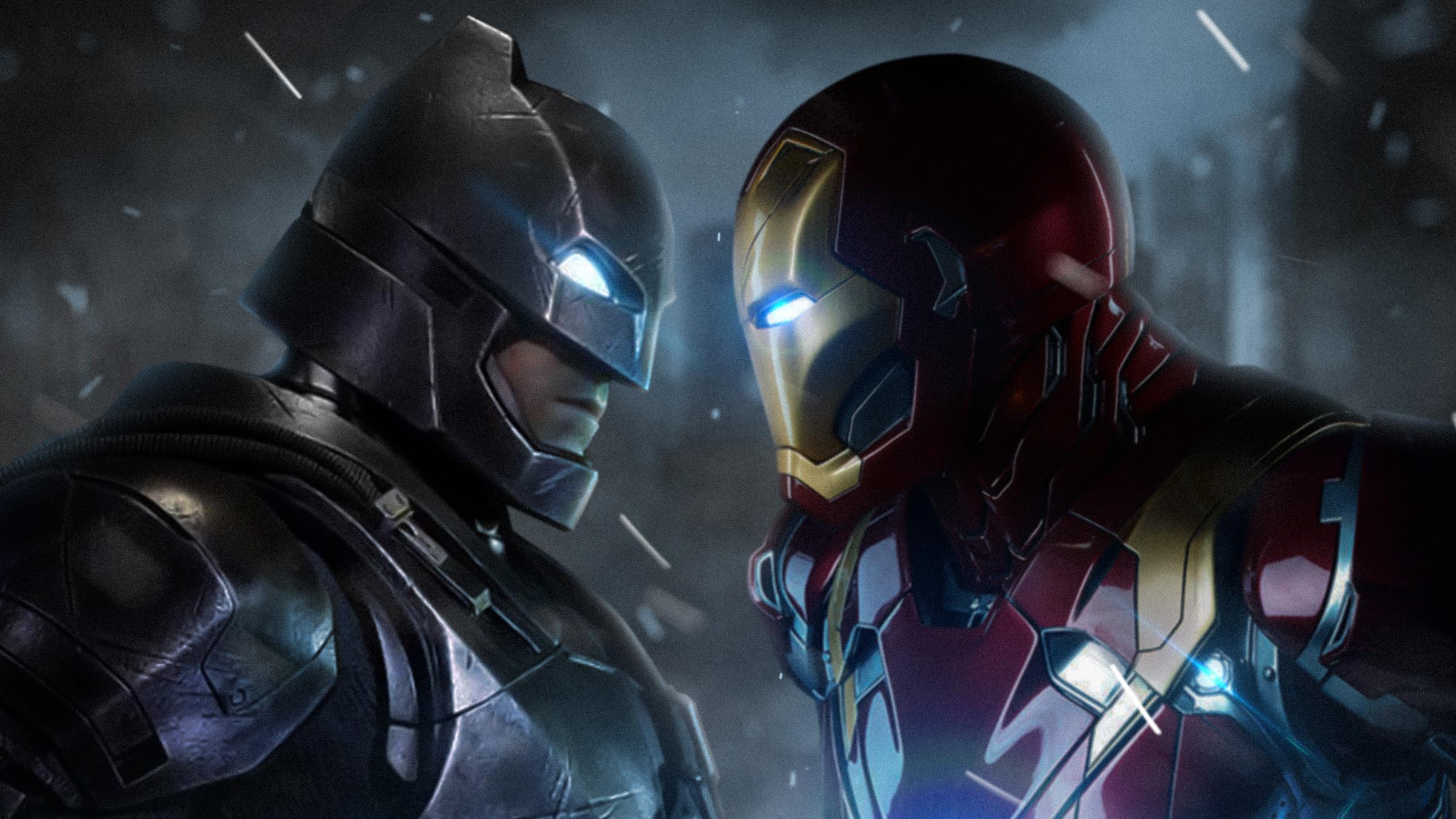 batman vs iron man hd superheroes 4k wallpapers images