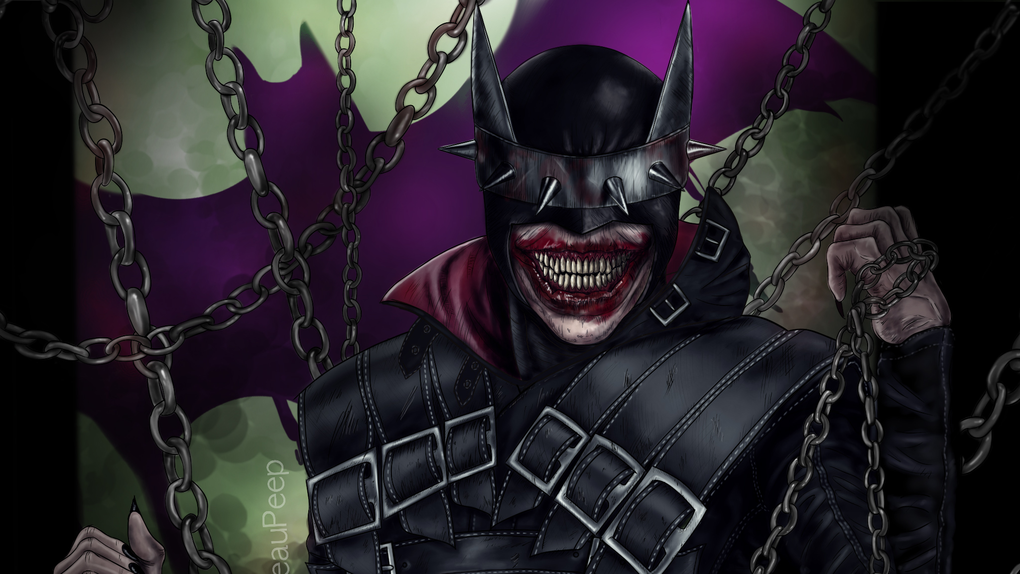 Batman Who Laughs All Day Hd Superheroes 4k Wallpapers