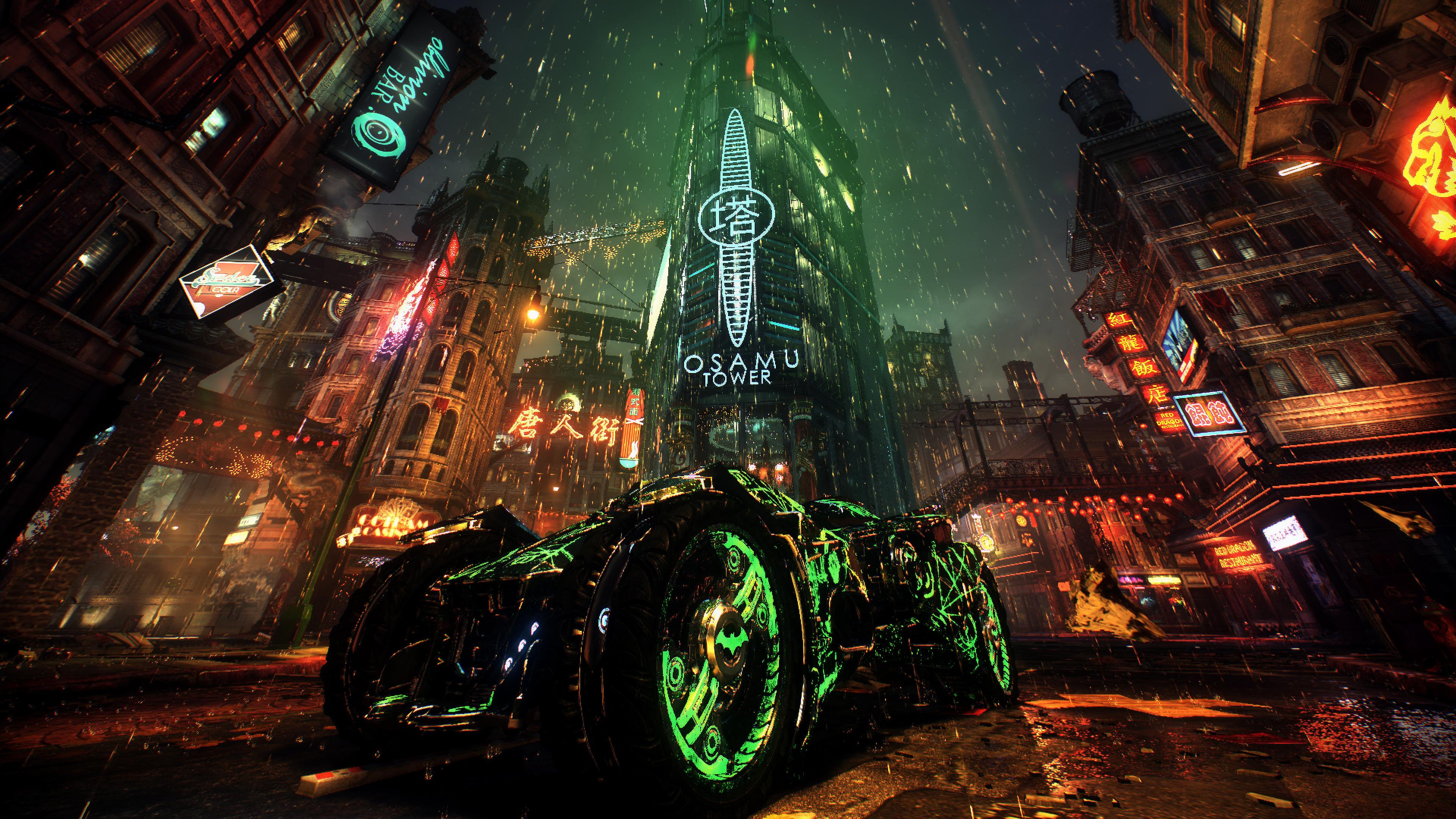 Batmobile Batman Arkham Knight 4k, HD Games, 4k Wallpapers ...