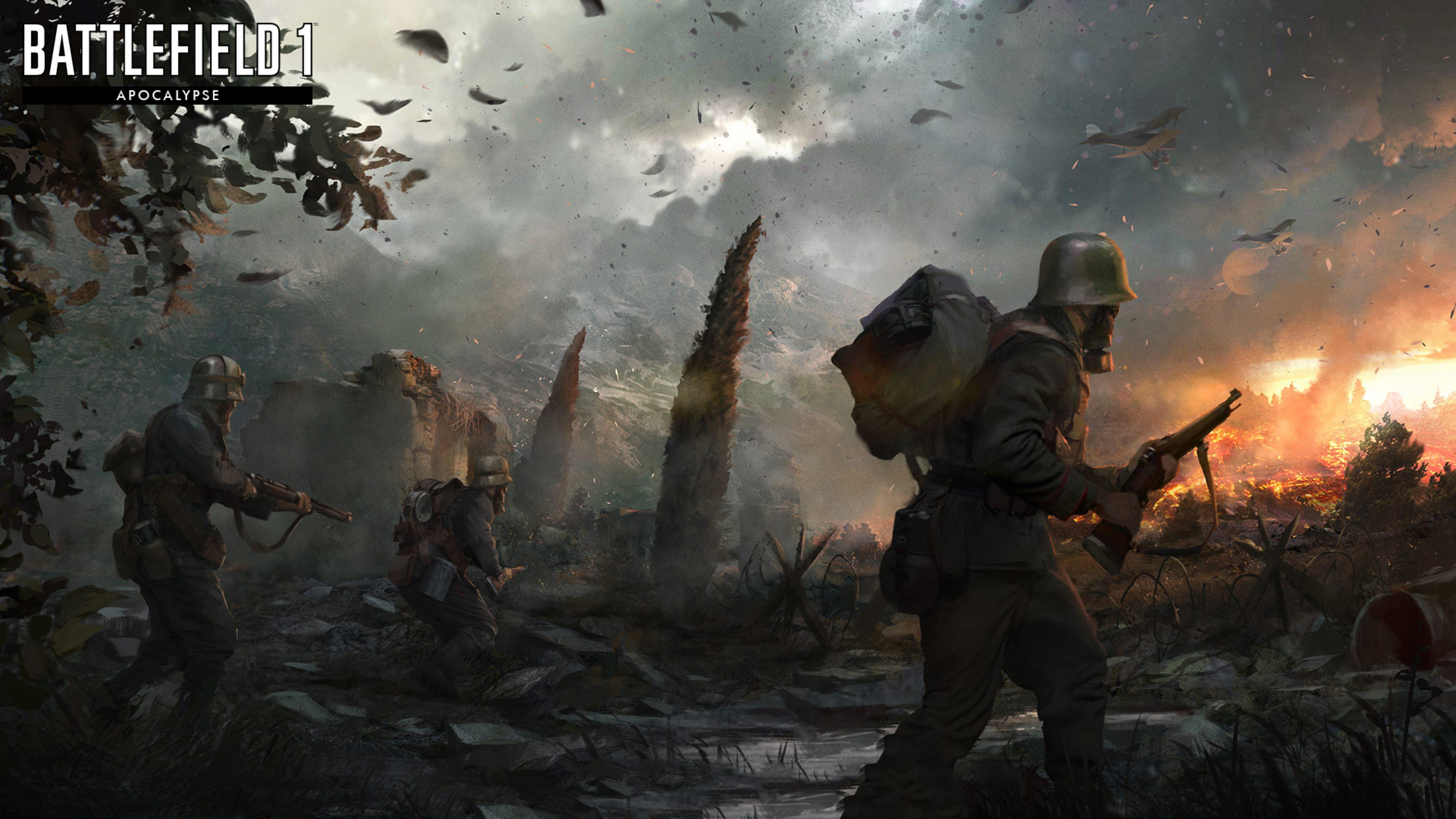 Battlefield 1 Apocalypse 4k