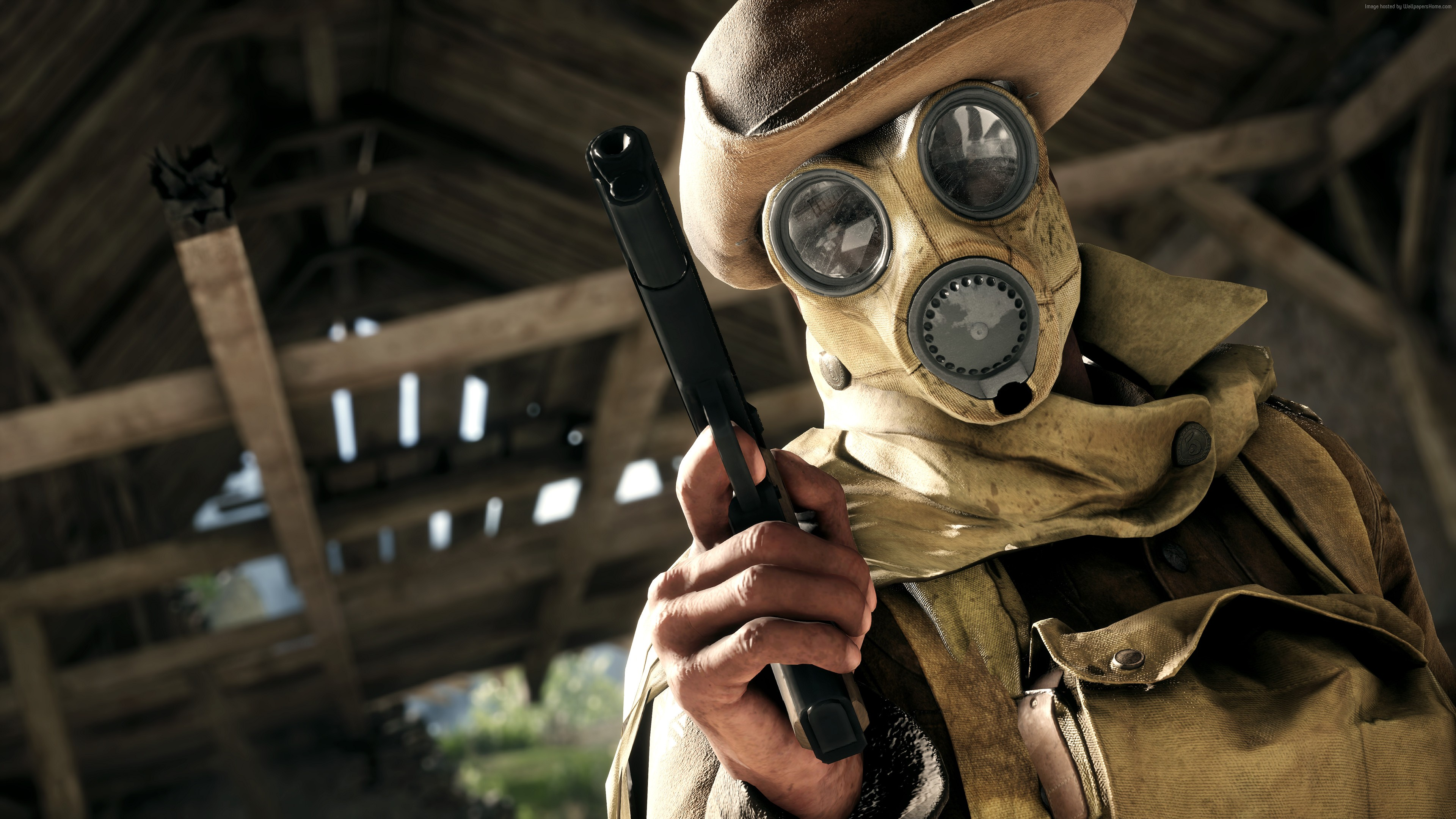 Pubg Gas Mask Guy Hd Games 4k Wallpapers Images: Battlefield 1 Game HD, HD Games, 4k Wallpapers, Images