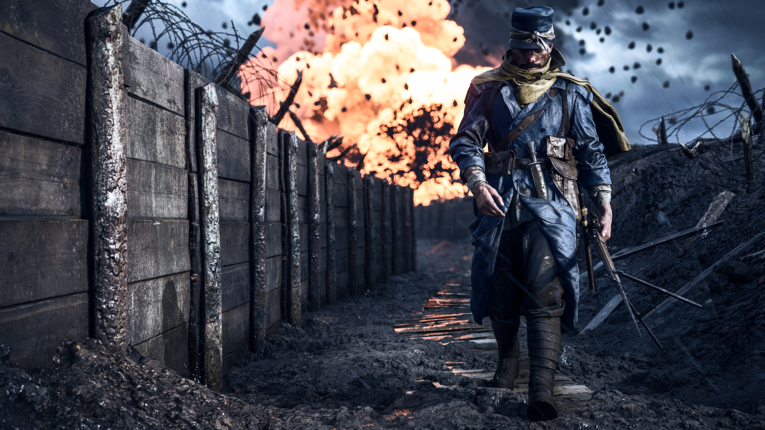 Battlefield 1 Soldier, HD Games, 4k Wallpapers, Images ...