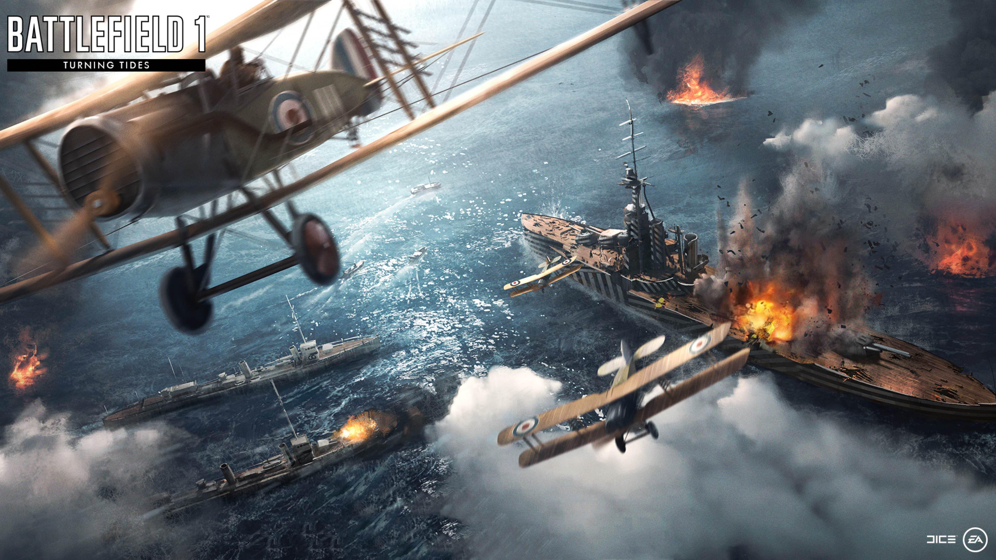 Favoris Battlefield 1 Turning Tides 2018, HD Games, 4k Wallpapers, Images  GO82
