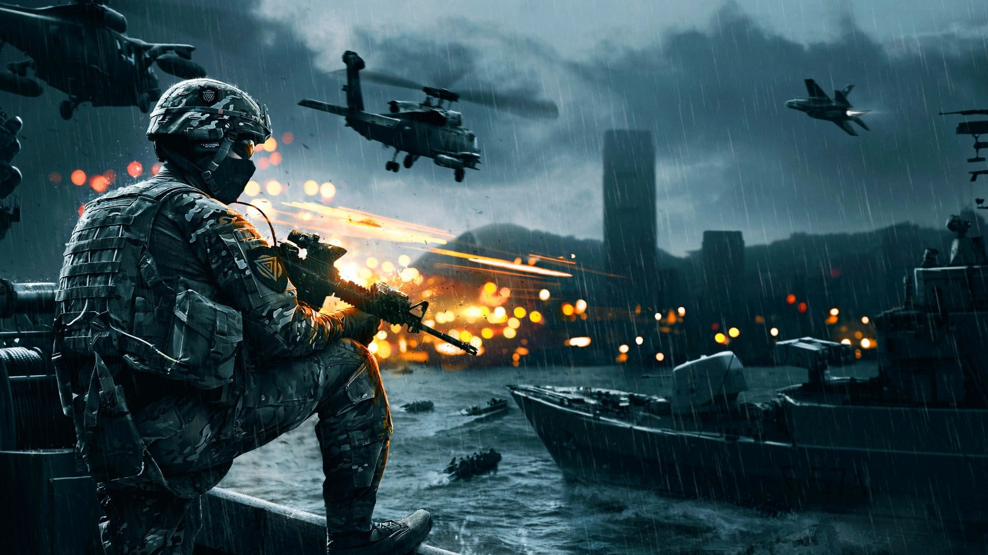 Download Wallpaper 1280x1280 Battlefield 4 Game Ea: Battlefield 4, HD Games, 4k Wallpapers, Images