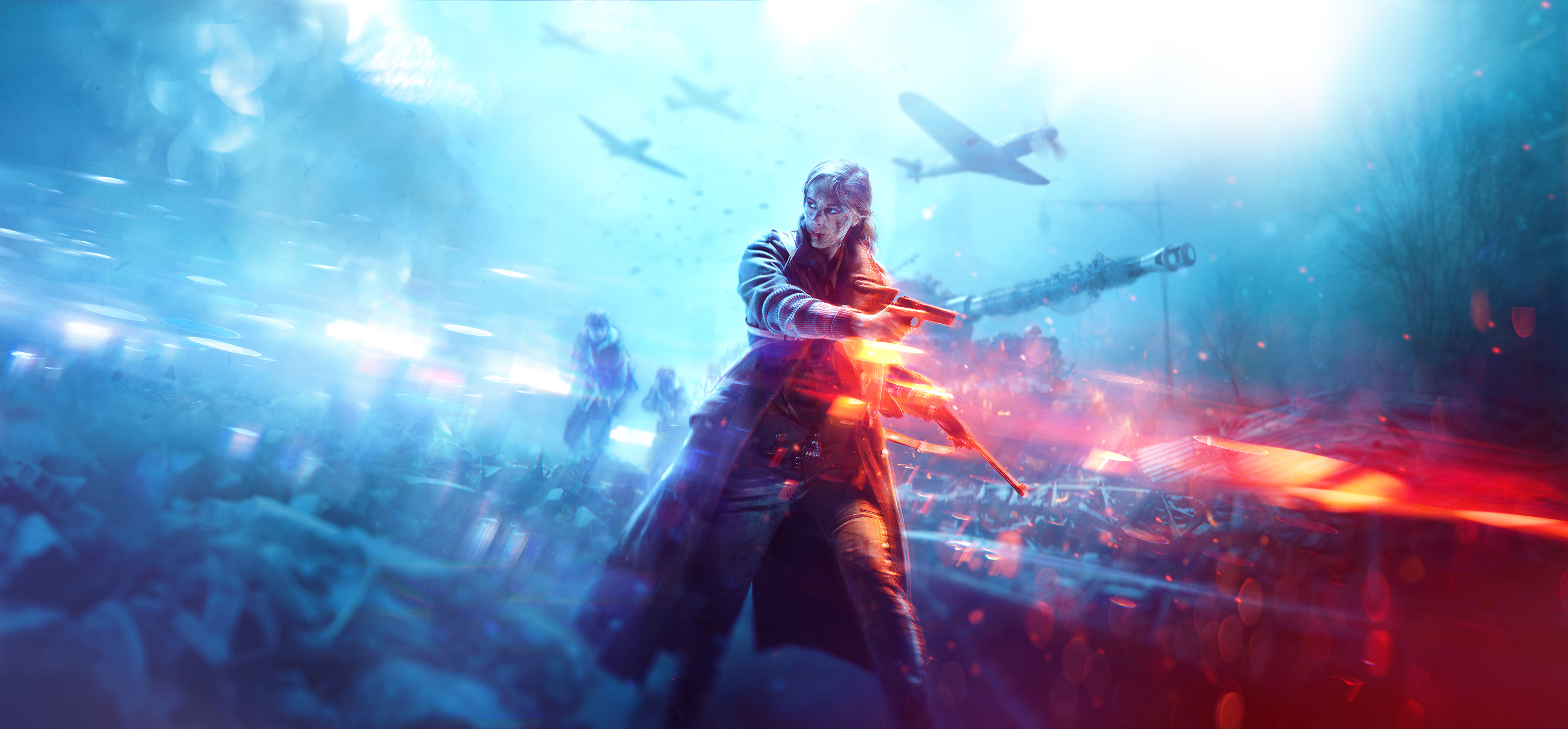 Battlefield V Warrior Girl 4k, HD Games, 4k Wallpapers, Images, Backgrounds, Photos and Pictures