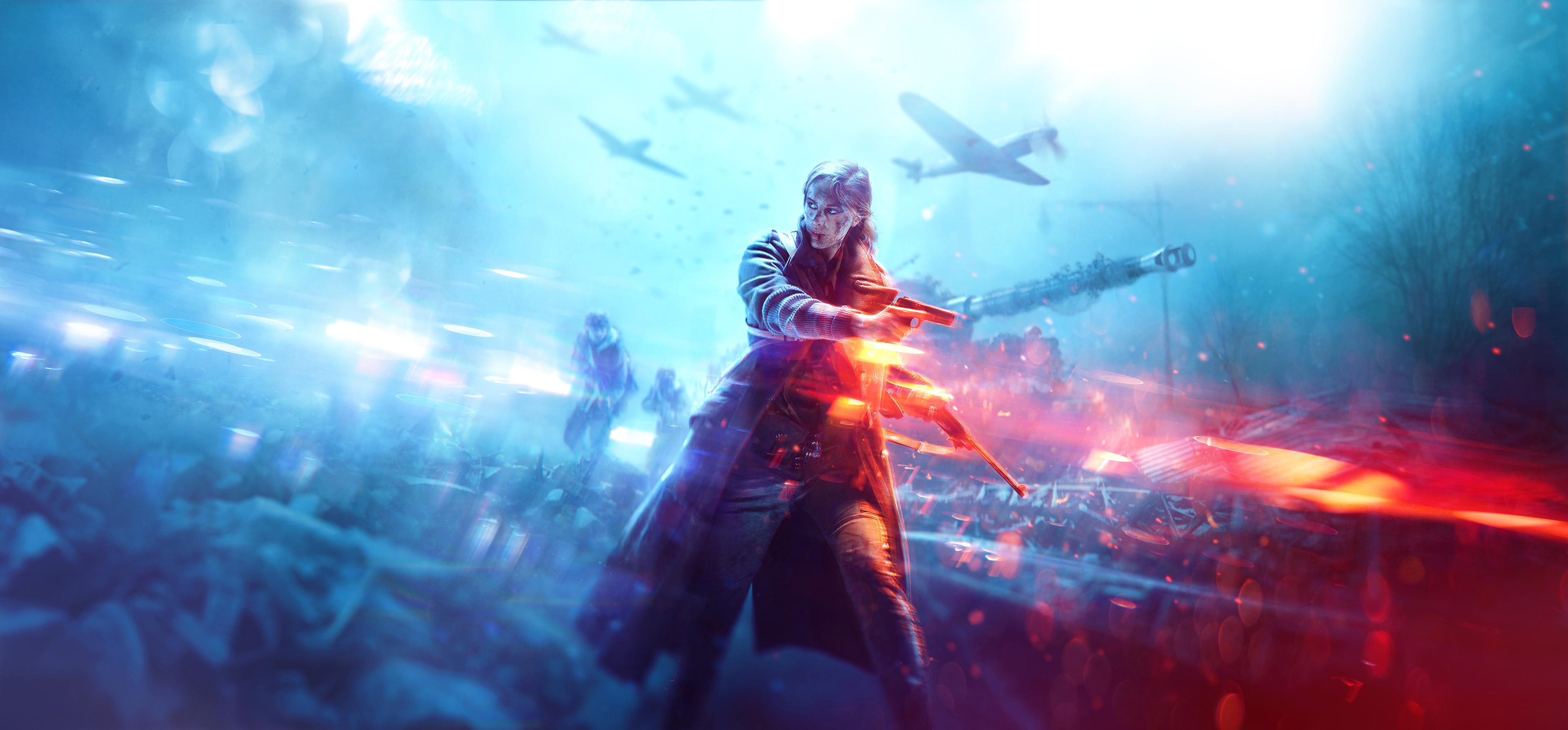 2560x1080 Playerunknowns Battlegrounds 2017 Game 2560x1080: 2560x1080 Battlefield V Warrior Girl 4k 2560x1080