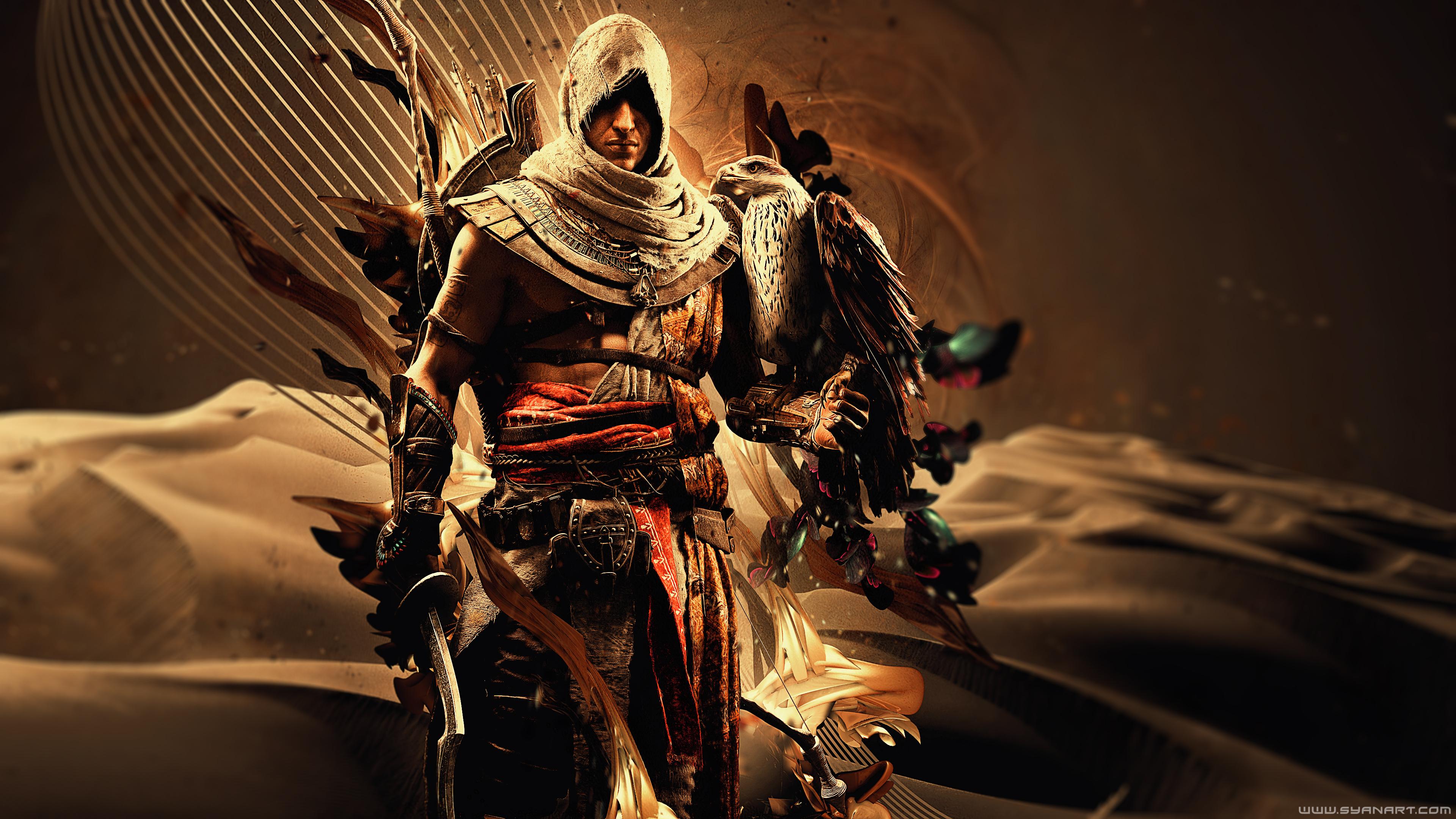2560x1440 Bayek Of Siwa Assassins Creed Origins 4k 1440P
