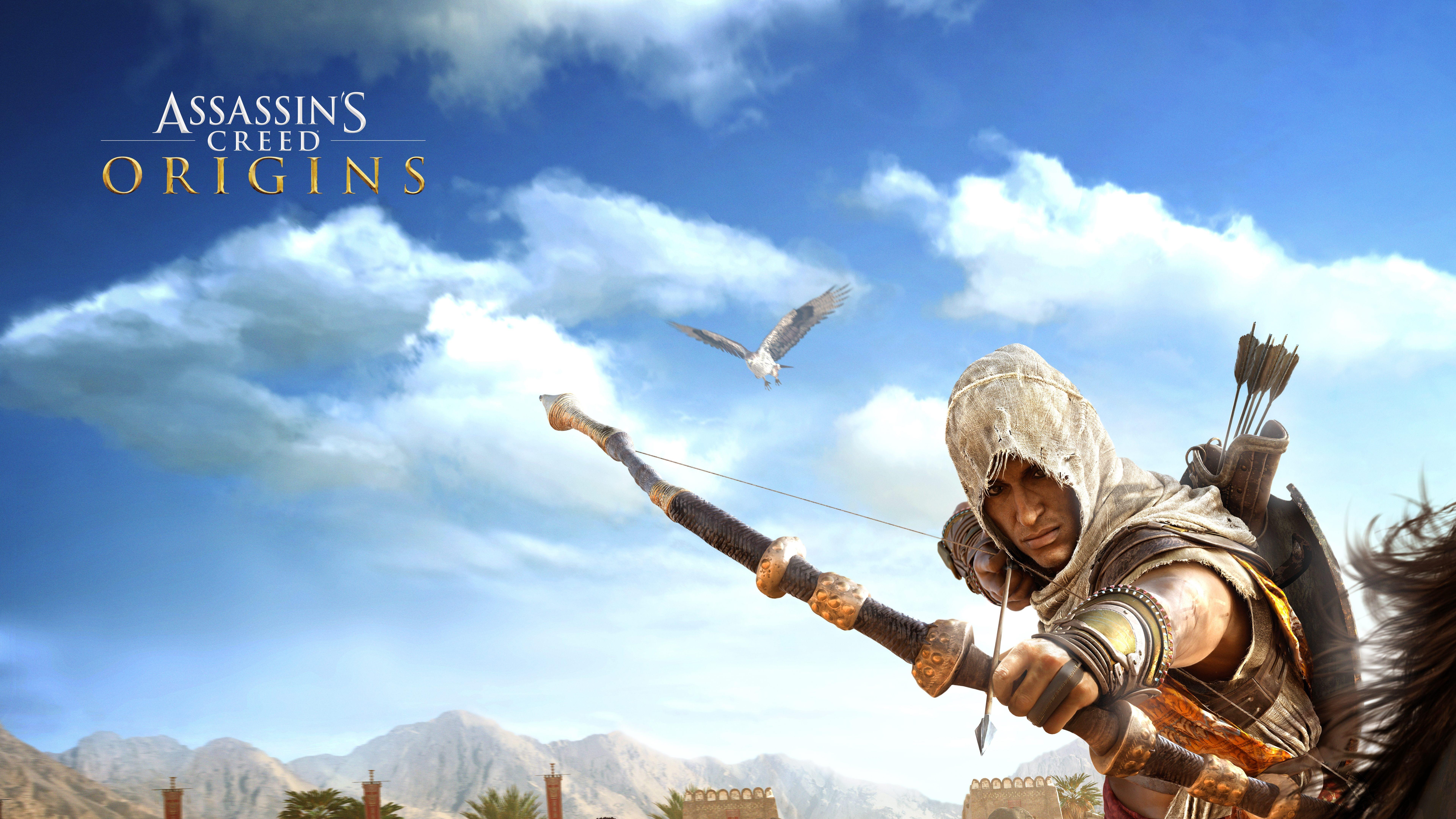 2018 Assassins Creed Origins 4k Hd Games 4k Wallpapers: Bayek Of Siwa Assassins Creed Origins 8k, HD Games, 4k