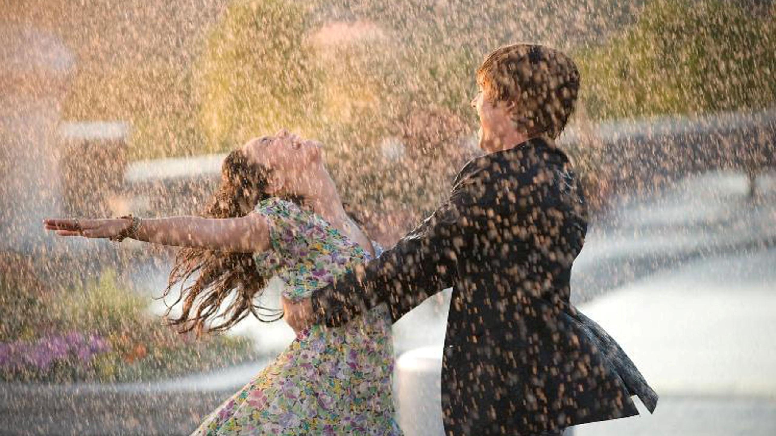 Beautiful Couple In Rain, HD Love, 4k Wallpapers, Images