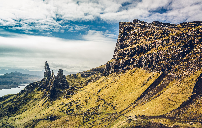4k Hd Wallapaper: Beautiful Landscape Mountains Sky 4k, HD Nature, 4k