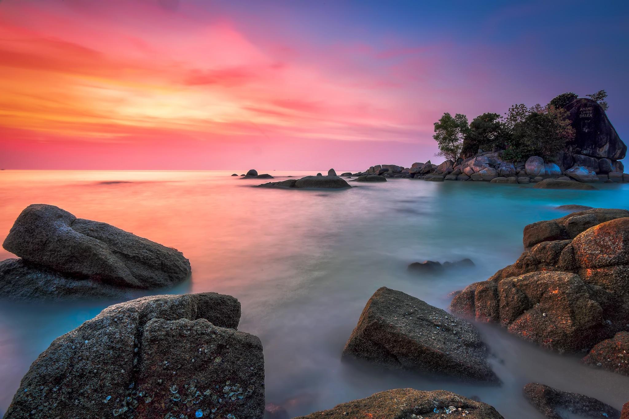 Beautiful Sea Coast, Hd Nature, 4K Wallpapers, Images -9387