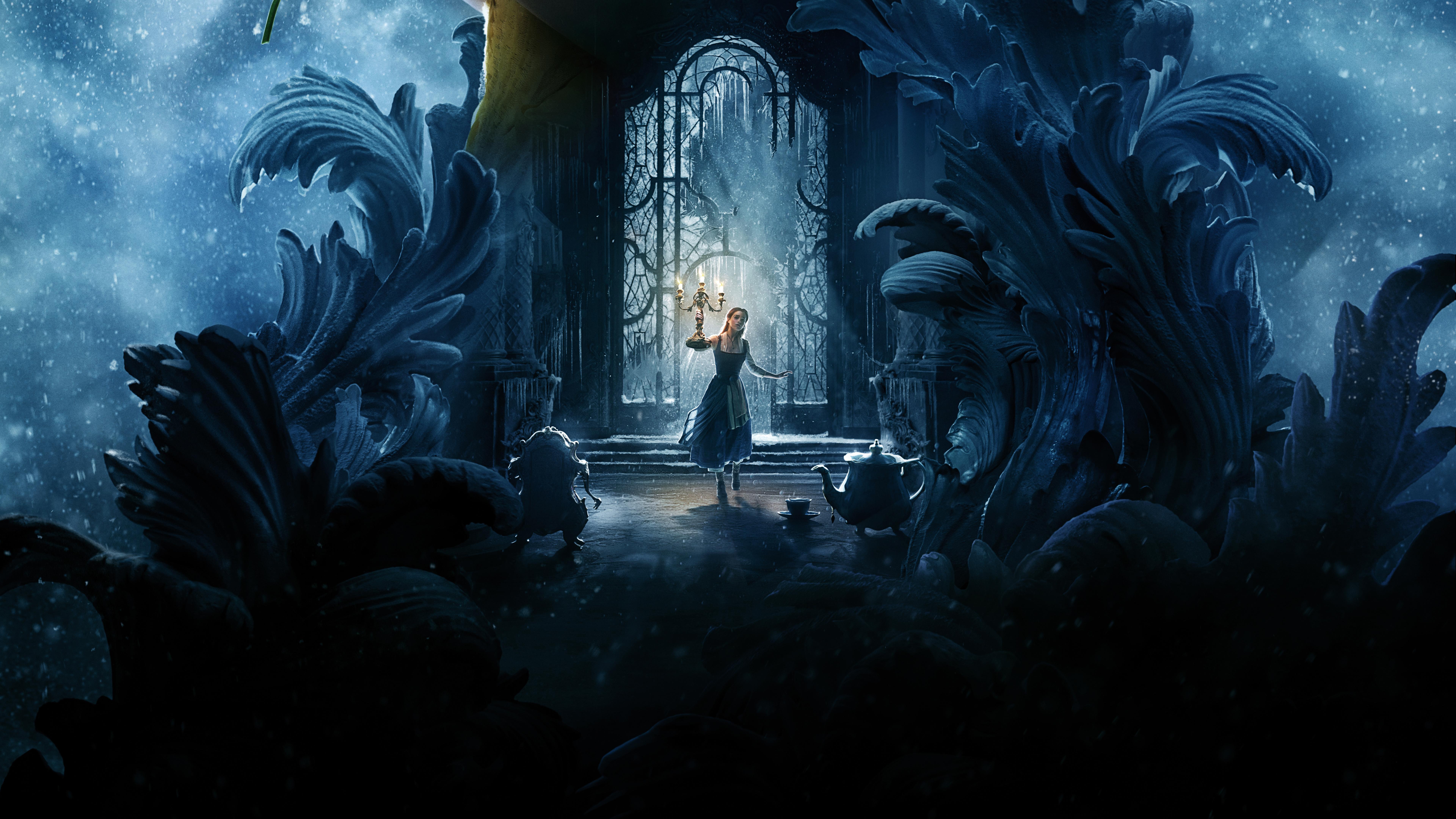 Beauty And The Beast Emma Watson 8k, HD Movies, 4k ...