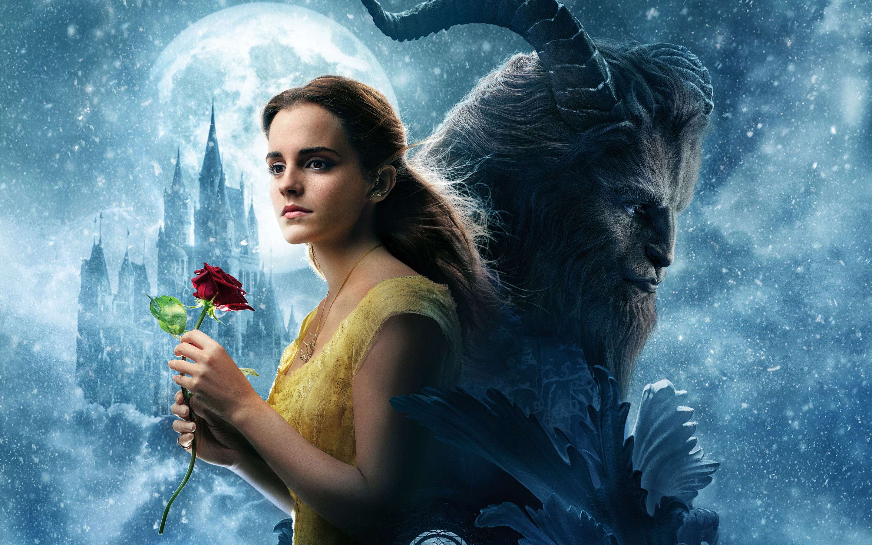 Beauty And The Beast Movie, HD Movies, 4k Wallpapers ...