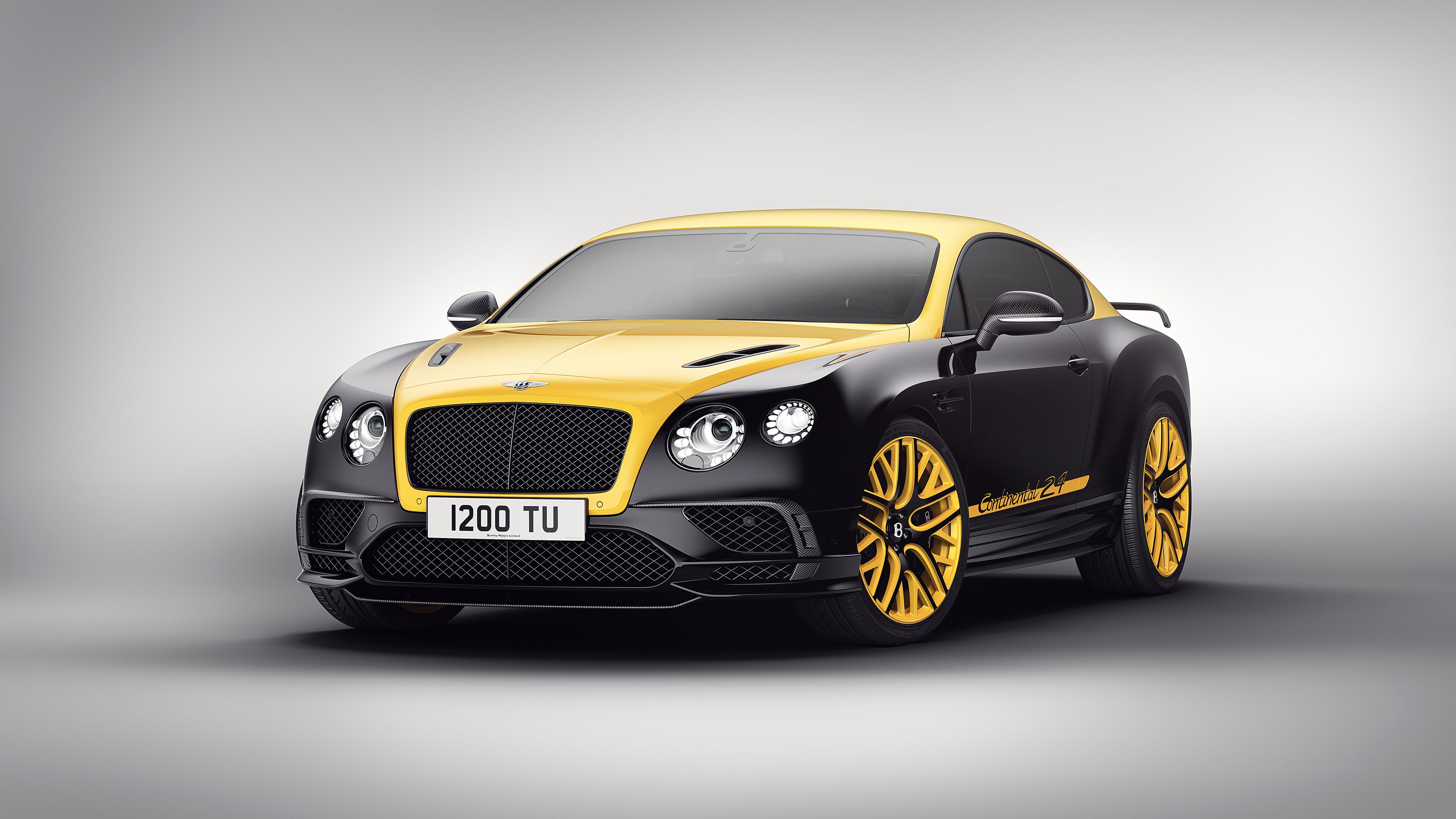 Bentley Continental GT 24 Gold Black, HD Cars, 4k ...