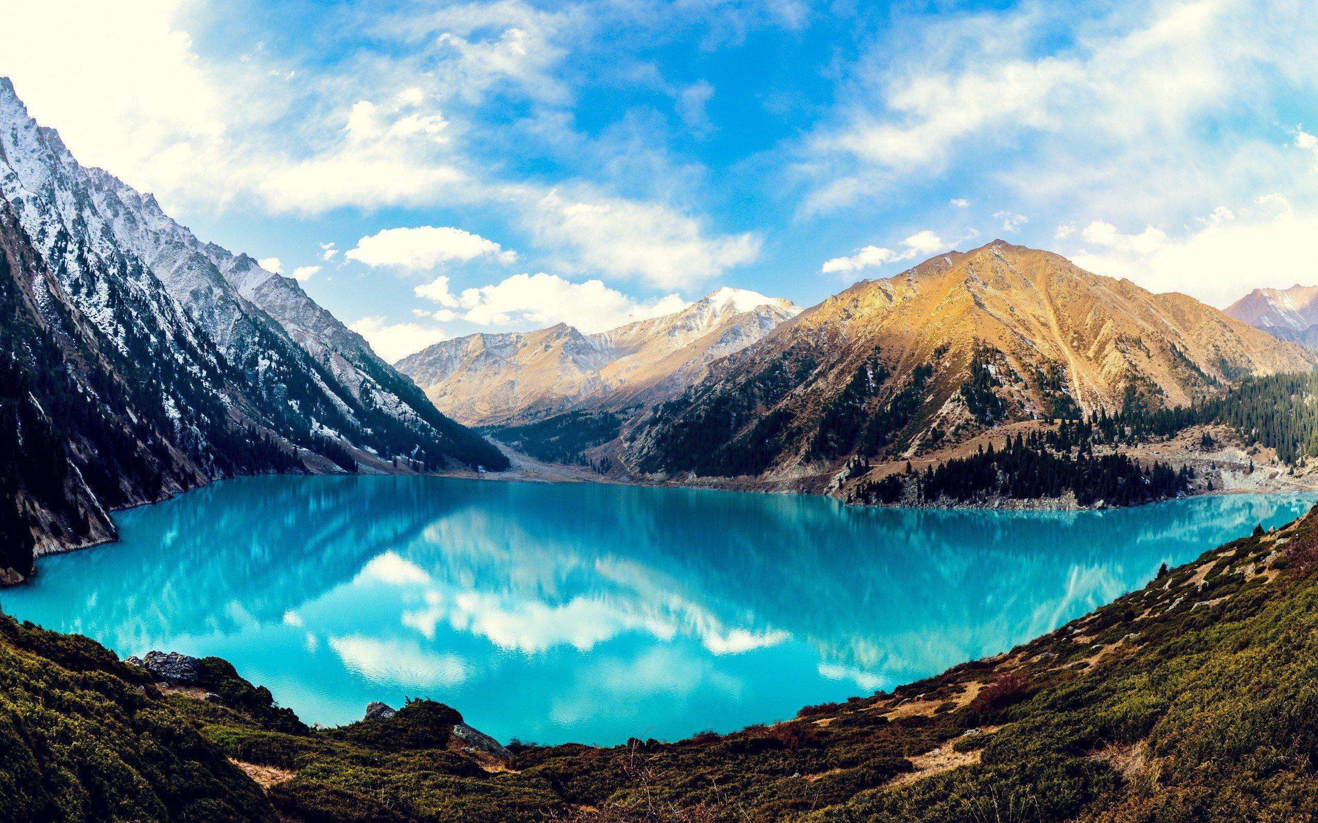Big Almaty Lake Hd Nature 4k Wallpapers Images