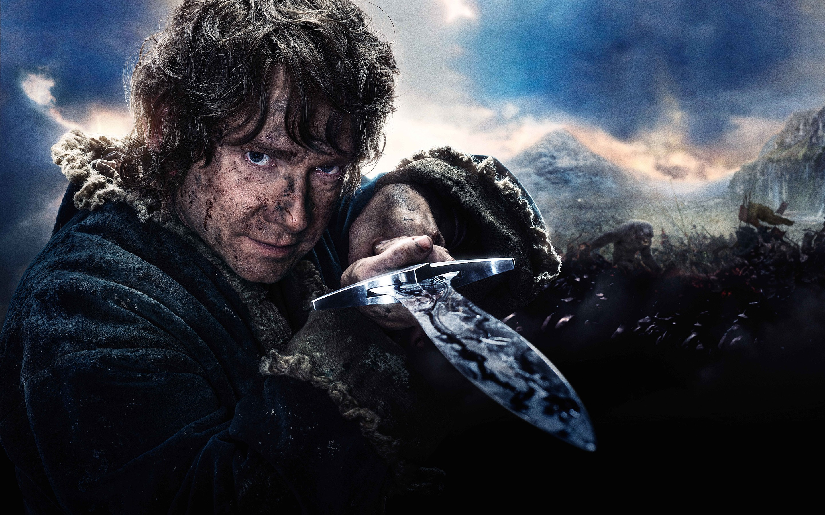 the hobbit bilbo baggins Bilbo baggins was a hobbit and the uncle of frodo baggins bilbo's adventures started early one morning when he stepped outside his home for a smoke all of a sudden the wizard gandalf appeared.
