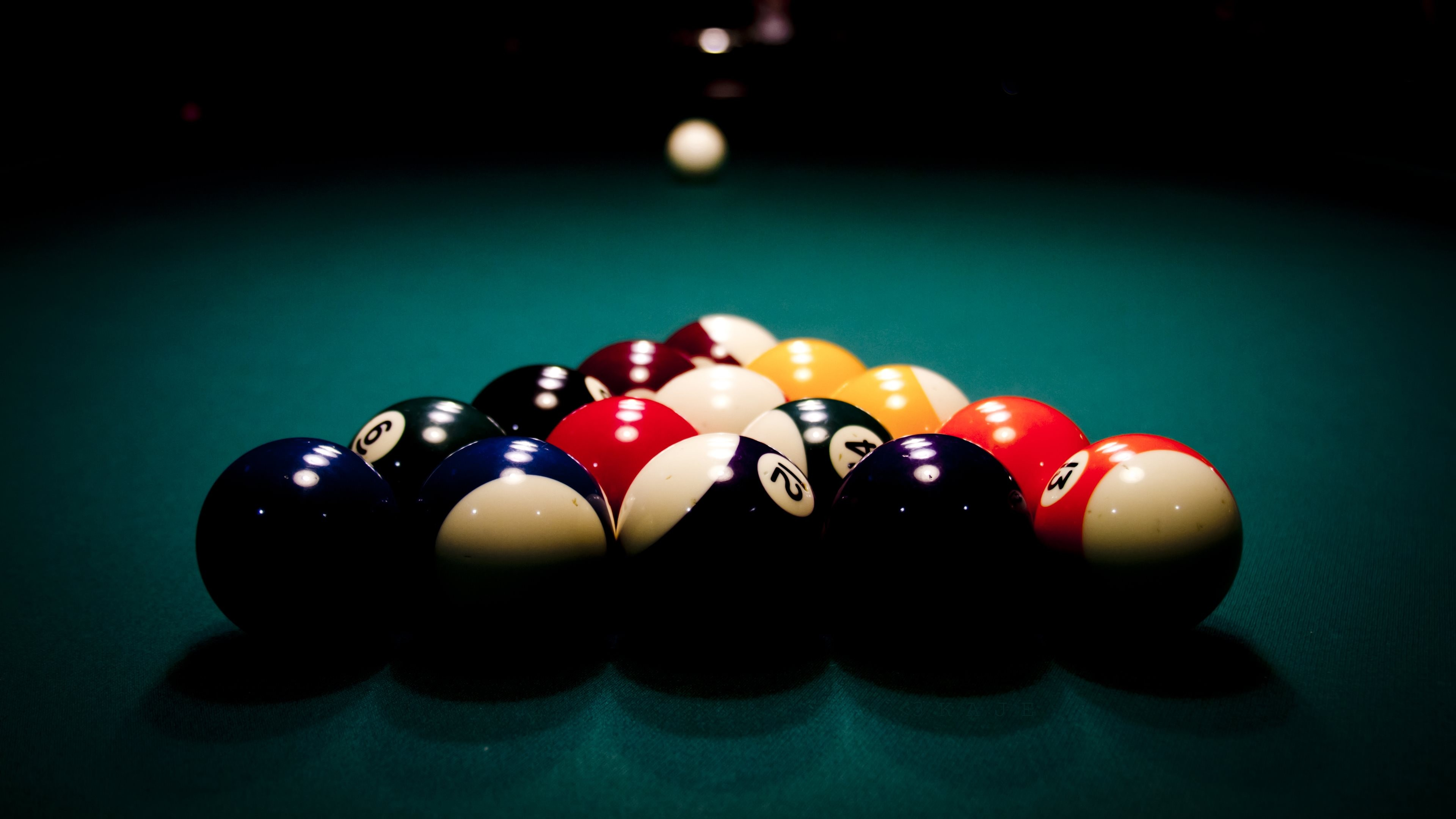 Billard Balls, HD Sports, 4k Wallpapers, Images