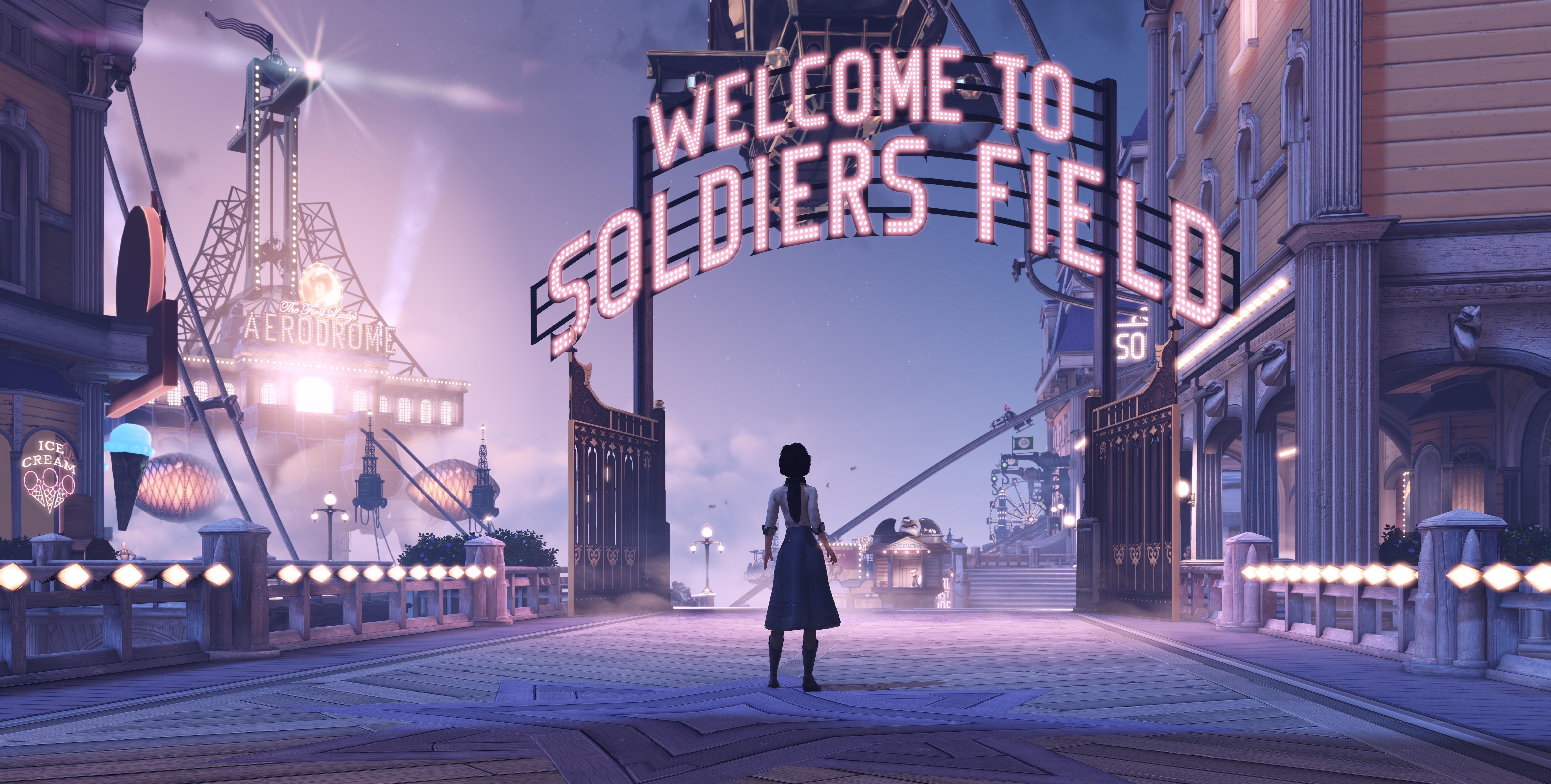 Bioshock Infinite 10k HD Games 4k Wallpapers Images Backgrounds
