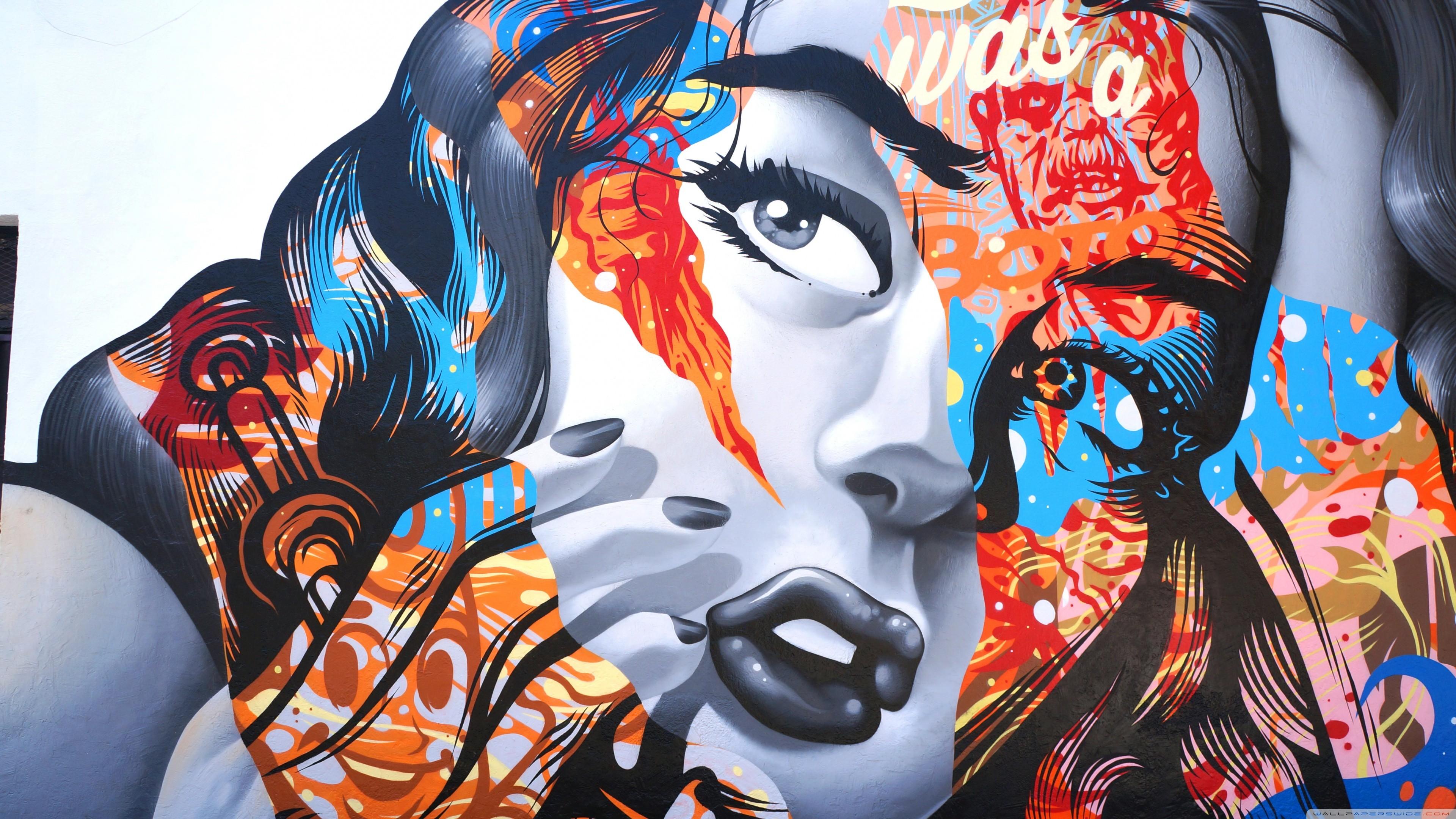 BioShock Infinite Graffiti 2048x1152 Resolution