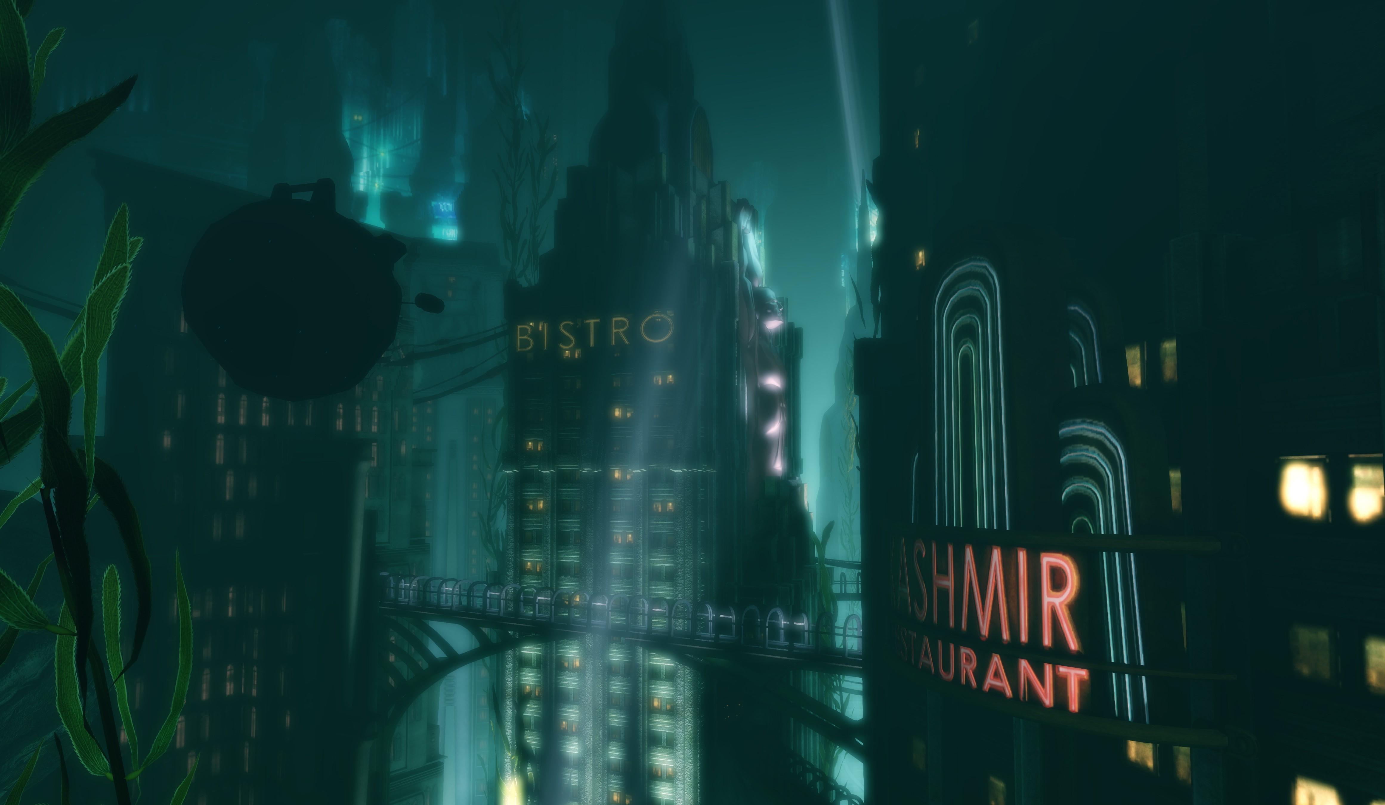 BioShock Infinite Submarine Underwater Laptop HD