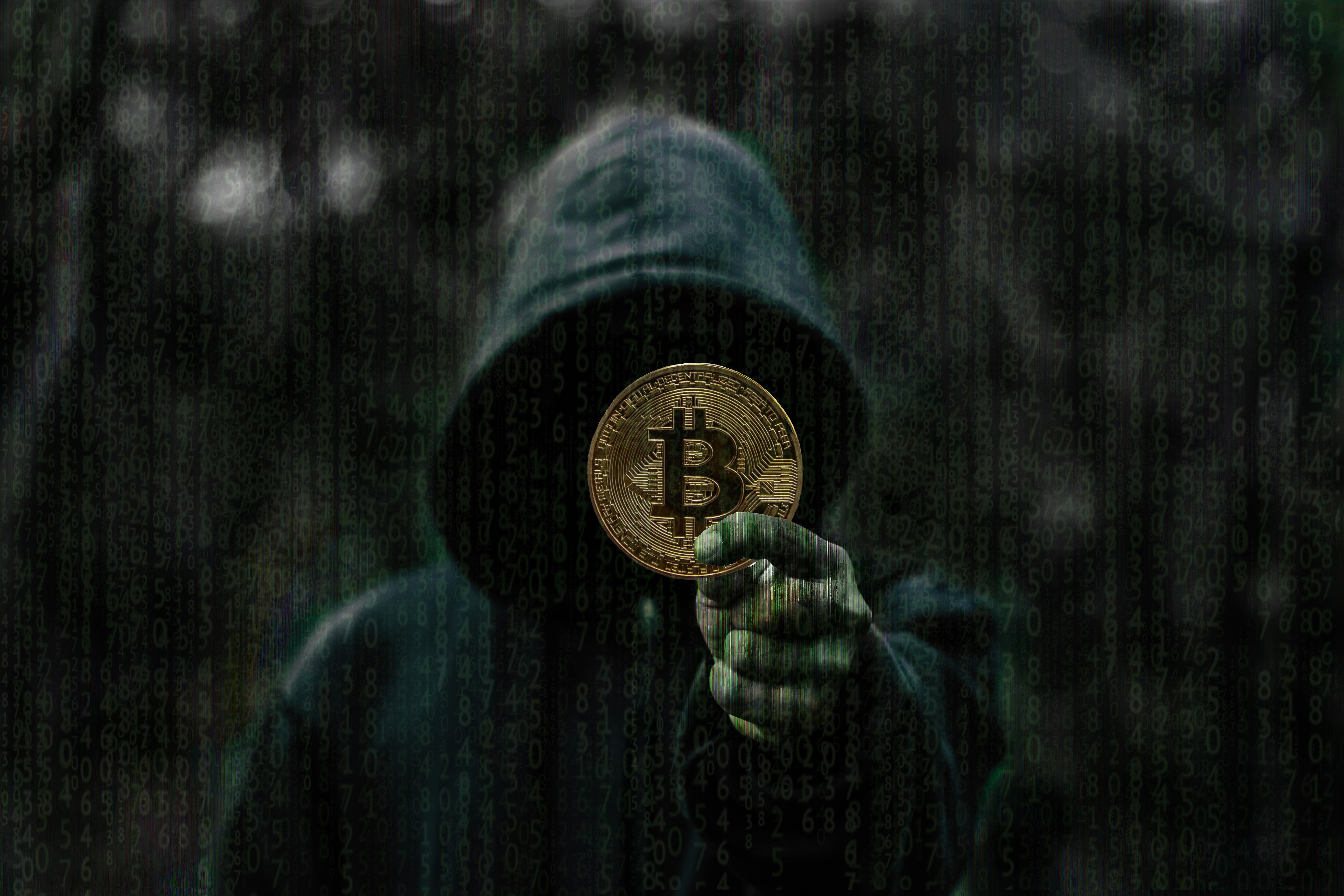 Bitcoins Anonym