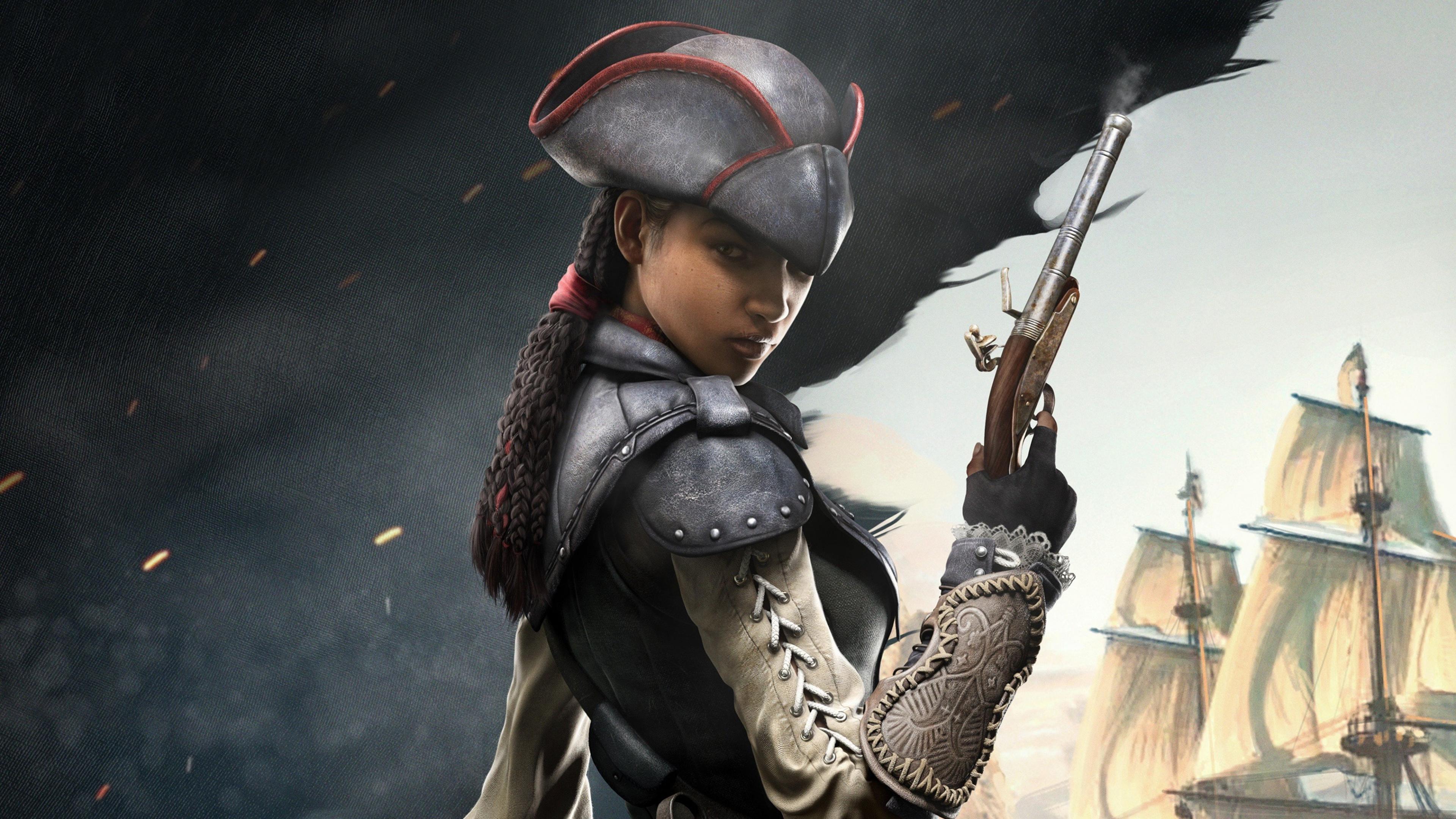 Black Assassins Creed Character 4k, HD Games, 4k ...