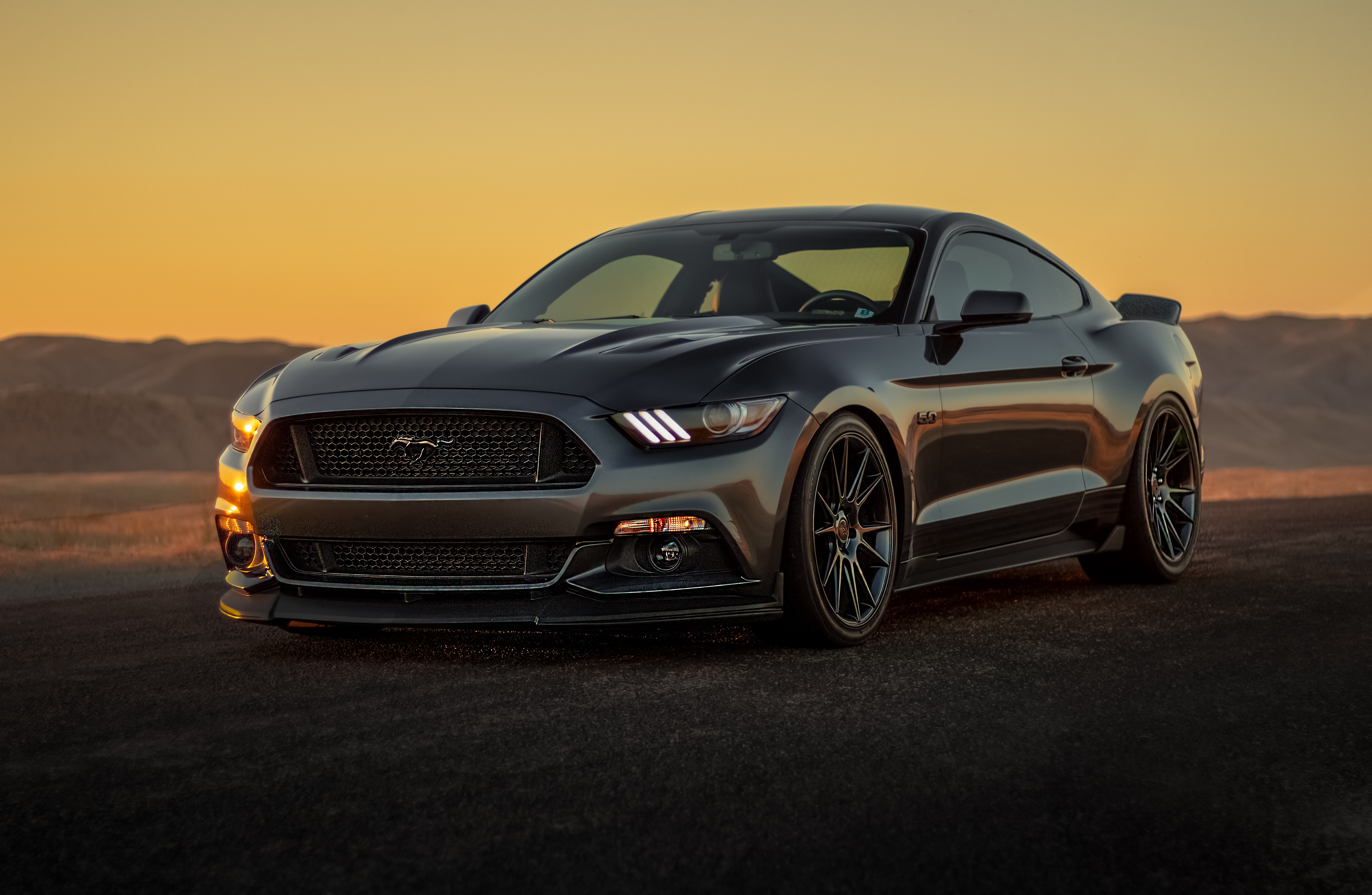 Black Ford Mustang 2019 5k, HD Cars, 4k Wallpapers, Images ...