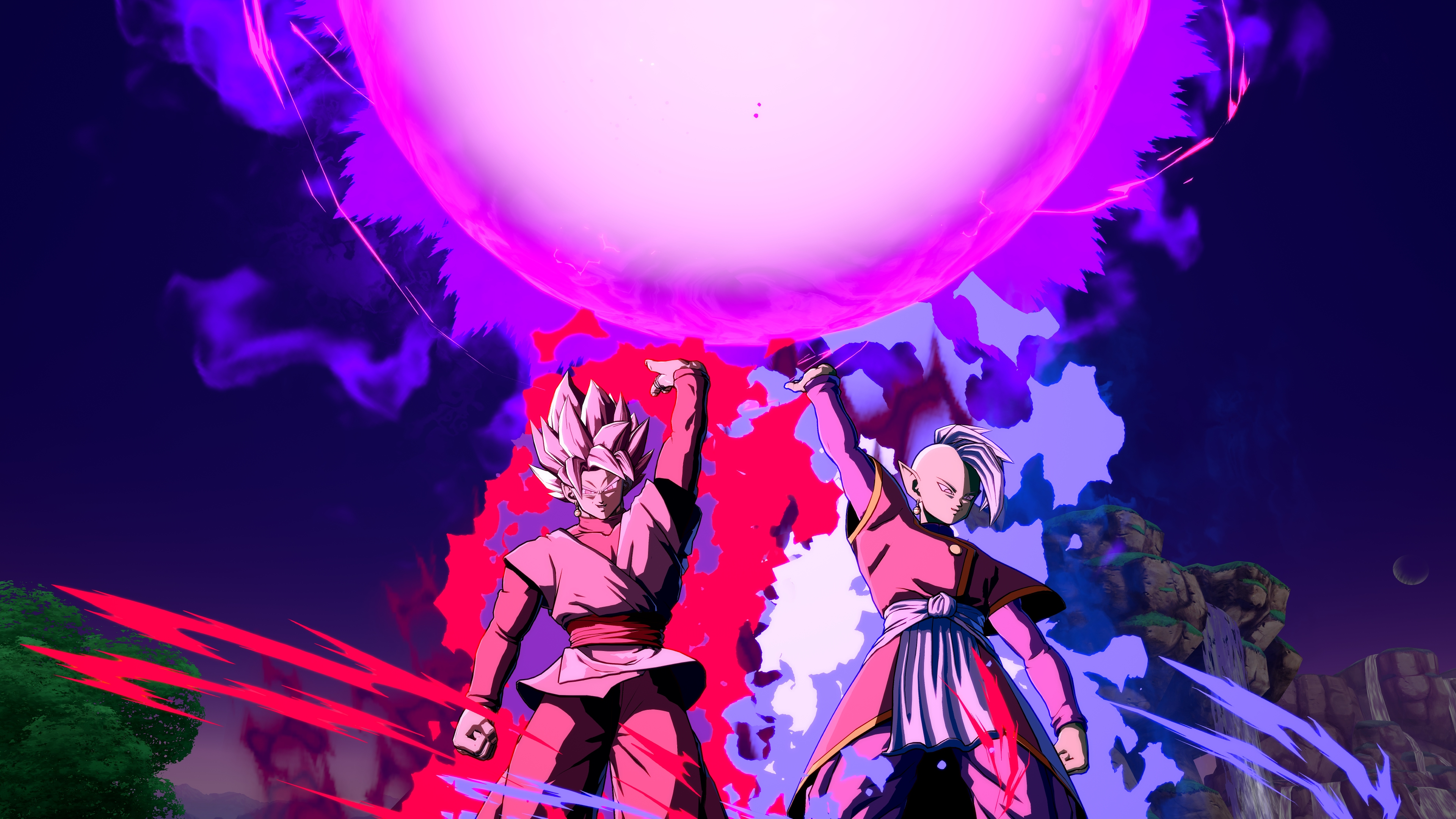 Black Goku Dragon Ball Fighterz Hd Games 4k Wallpapers Images