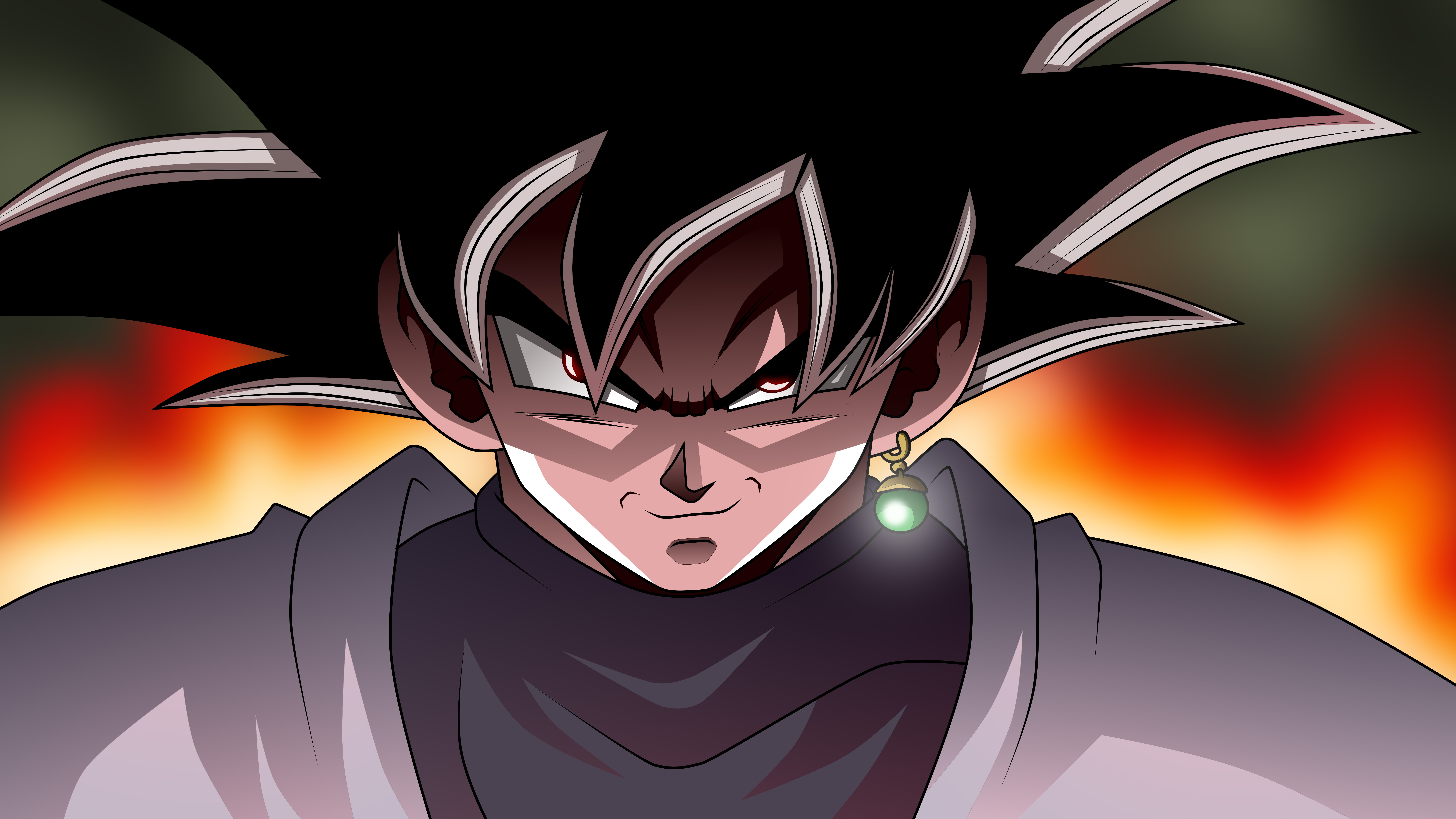 black goku dragon ball super 8k hd anime 4k wallpapers images backgrounds photos and pictures. Black Bedroom Furniture Sets. Home Design Ideas
