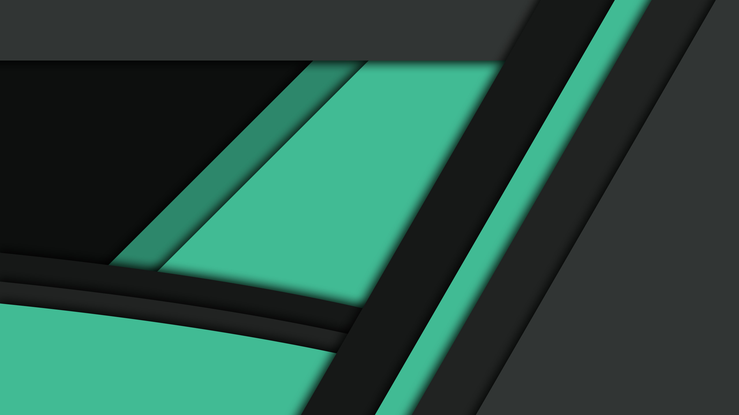 Black Green Material Design, HD Abstract, 4k Wallpapers ...