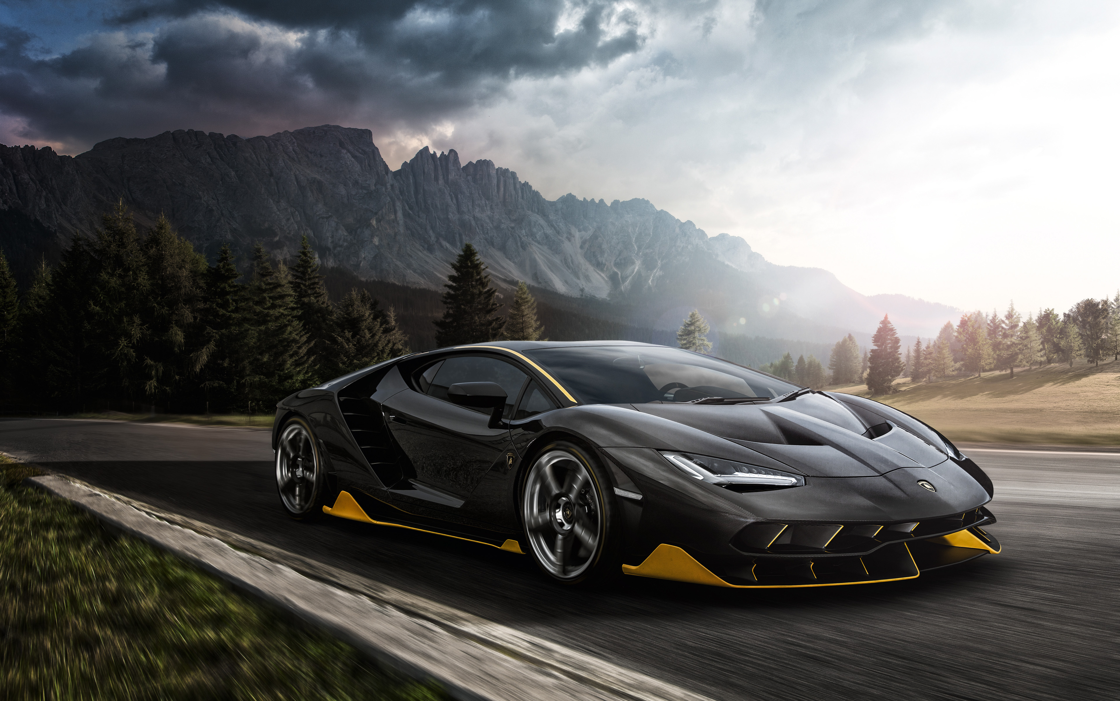 Black Lamborghini Aventador 4k 2018 Hd Cars 4k Wallpapers