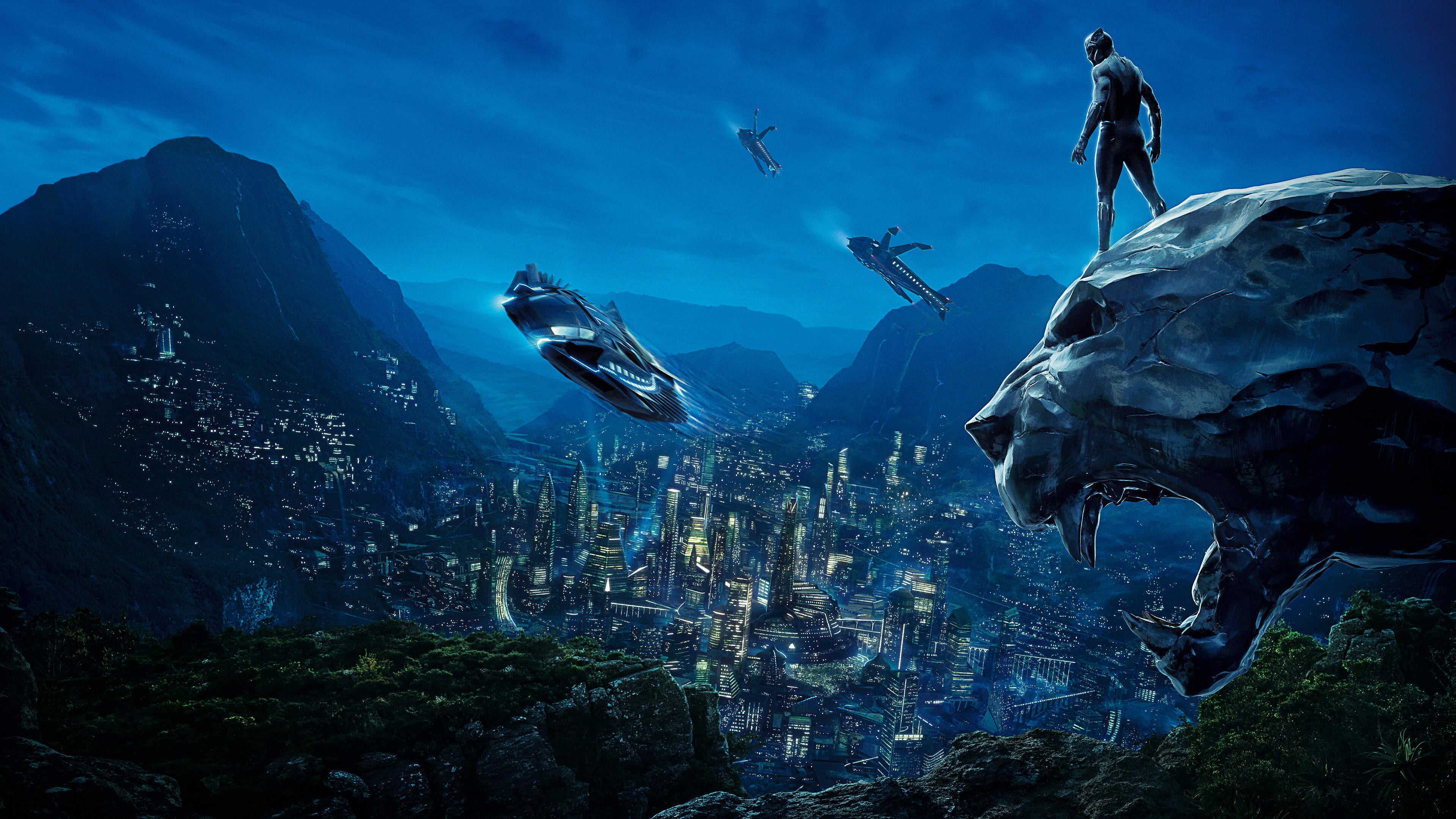 black panther 4k movie poster hd movies 4k wallpapers