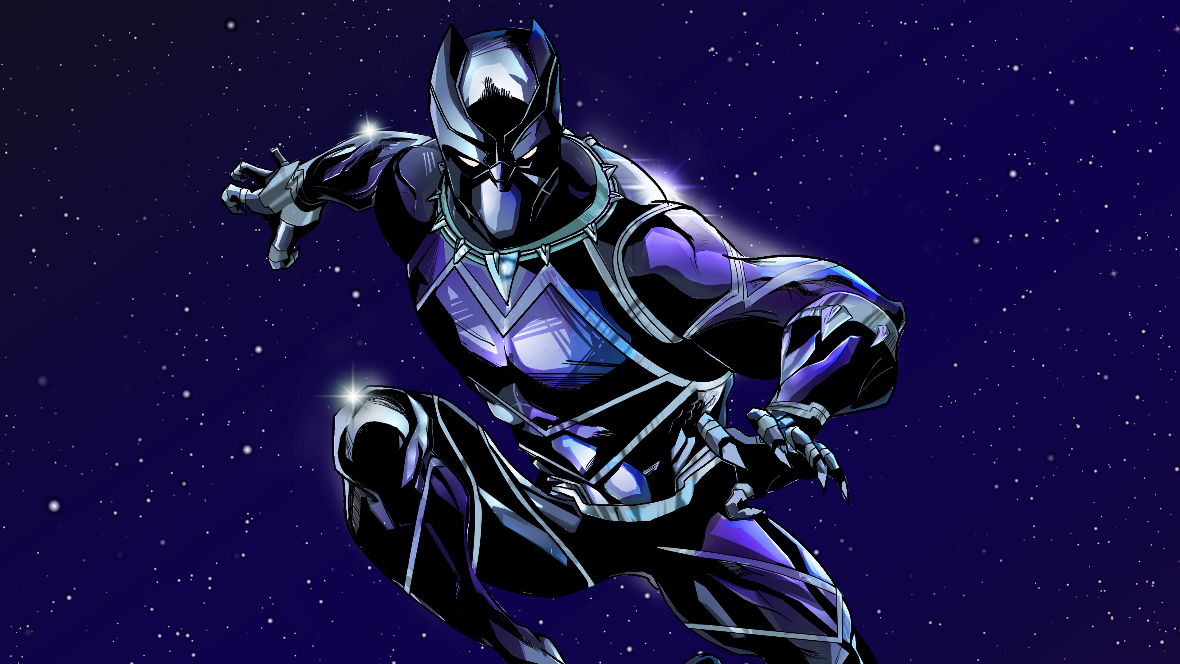 Beautiful Black Panther 4k Ultra Hd Wallpaper Download Wallpaper